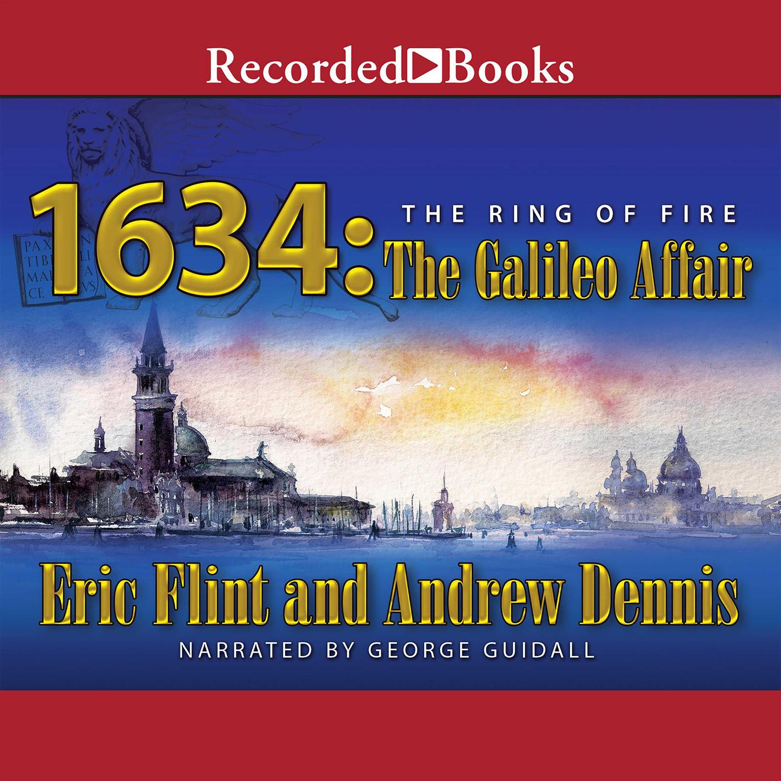 Printable 1634: The Galileo Affair Audiobook Cover Art