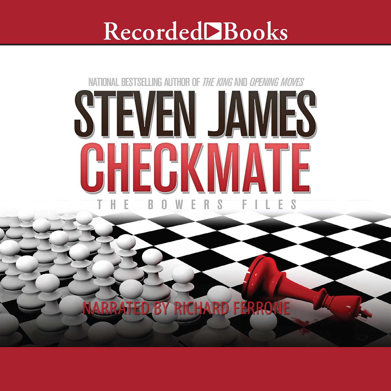 Printable Checkmate: The Bowers Files Audiobook Cover Art