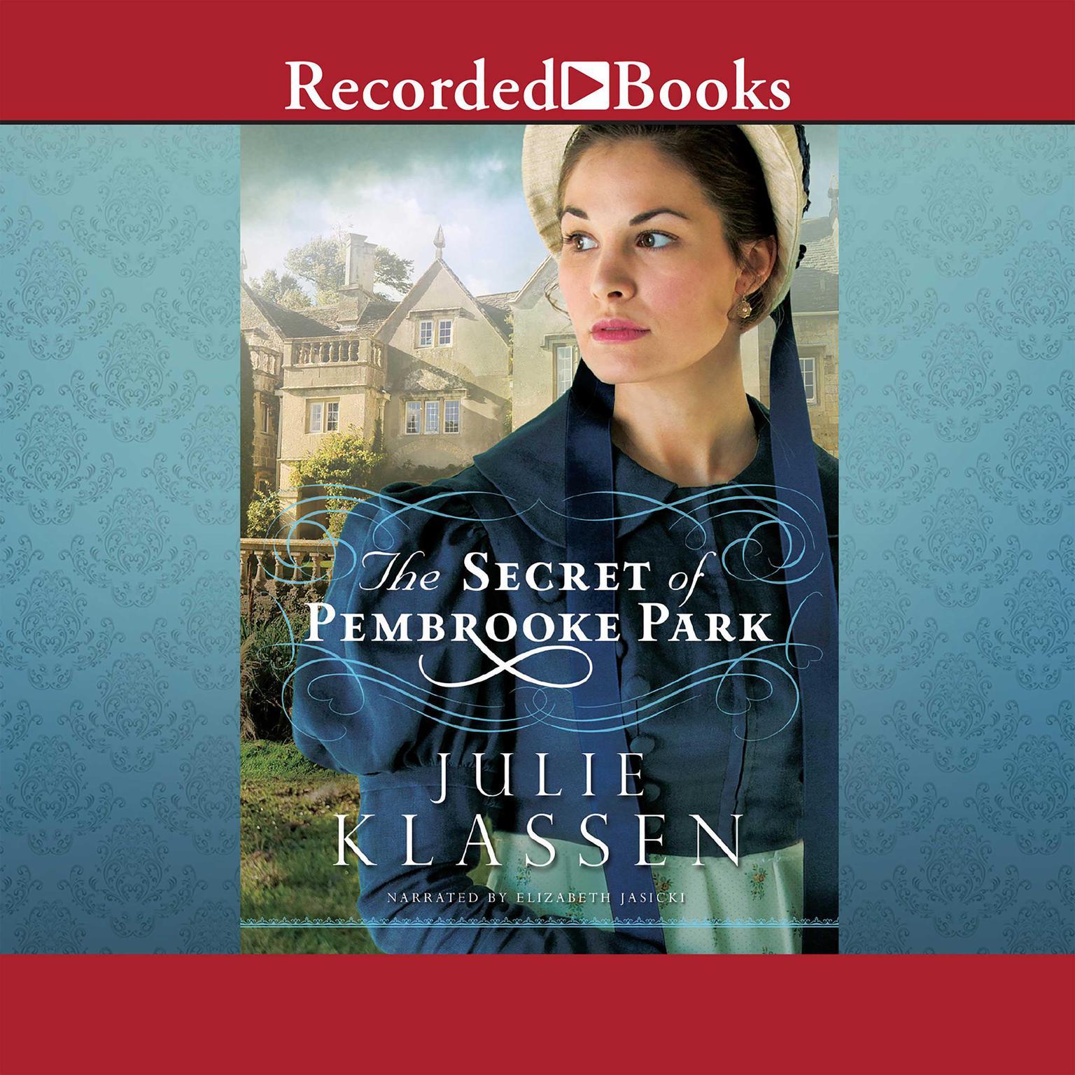 Printable The Secret of Pembrooke Park Audiobook Cover Art