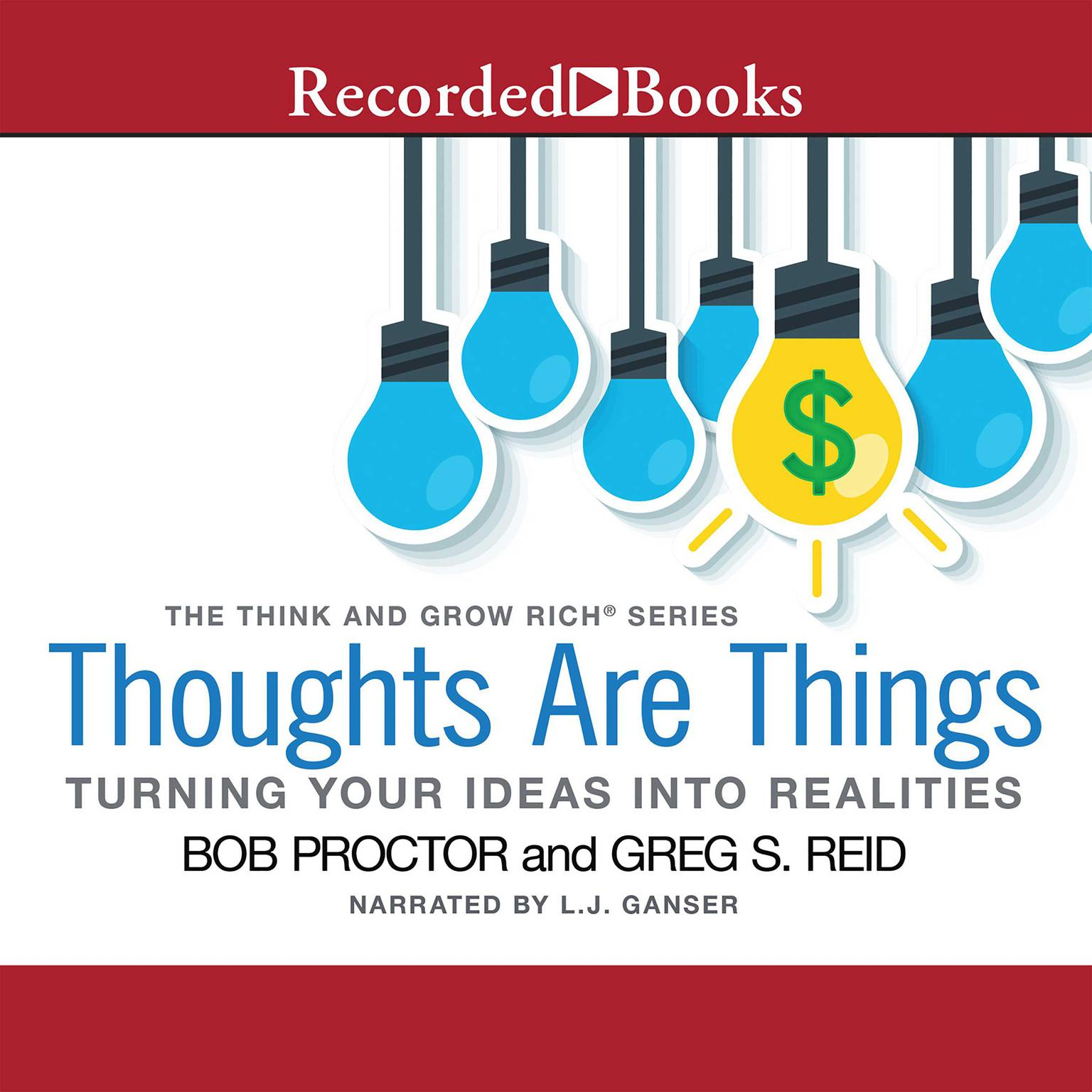 Printable Thoughts Are Things: Turning Your Idea into Realities Audiobook Cover Art