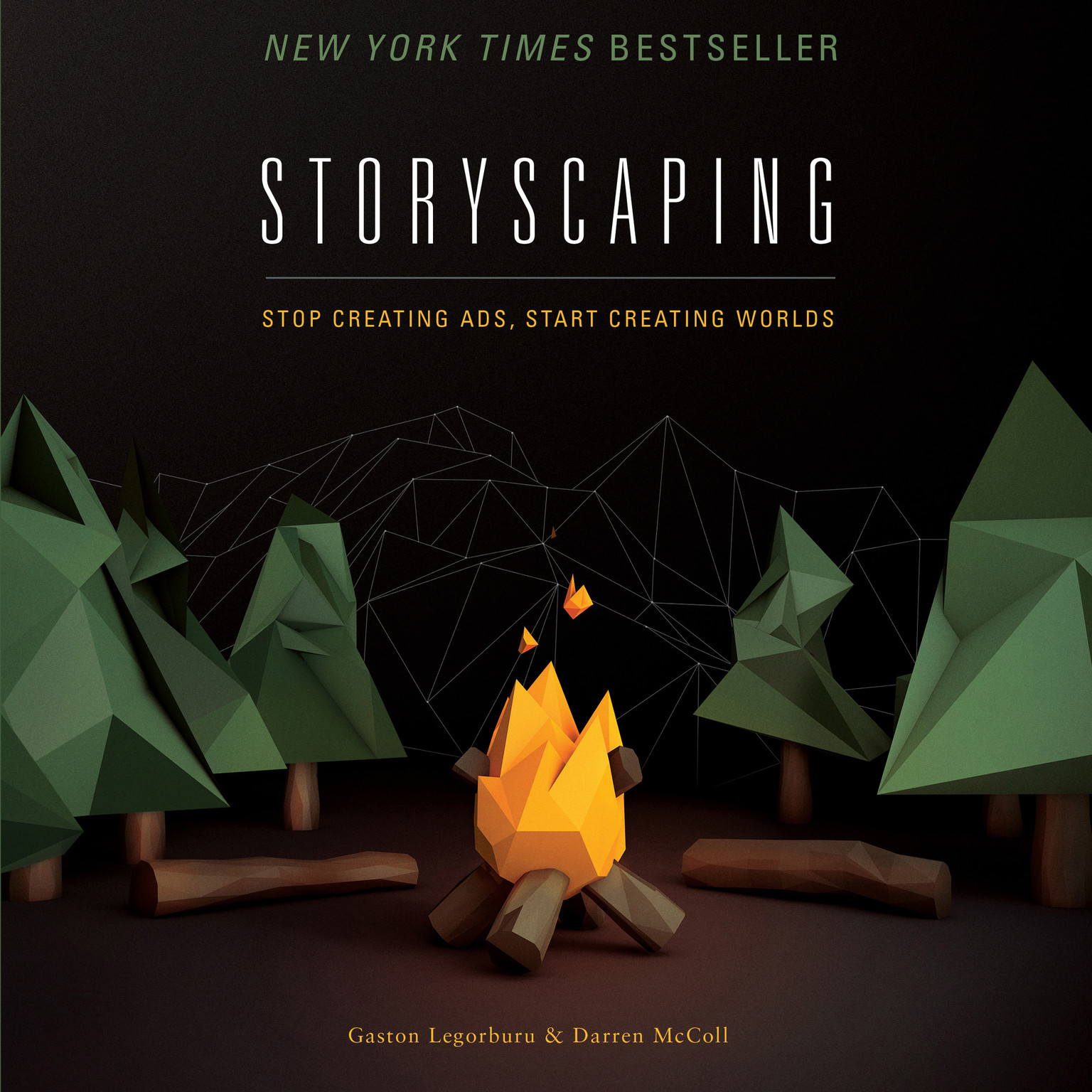 Printable Storyscaping: Stop Creating Ads, Start Creating Worlds Audiobook Cover Art