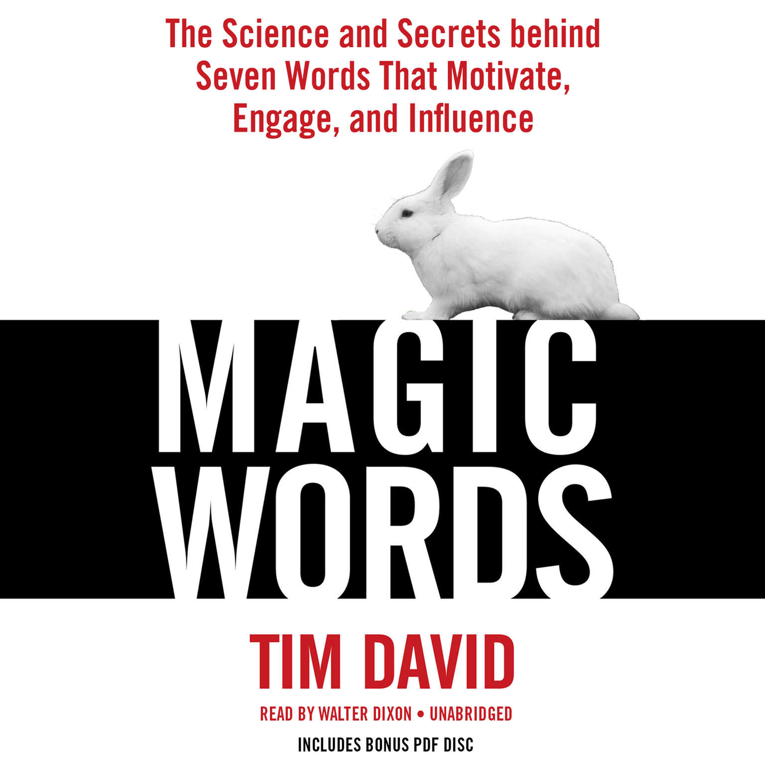 Printable Magic Words: The Science and Secrets Behind Seven Words That Motivate, Engage, and Influence Audiobook Cover Art