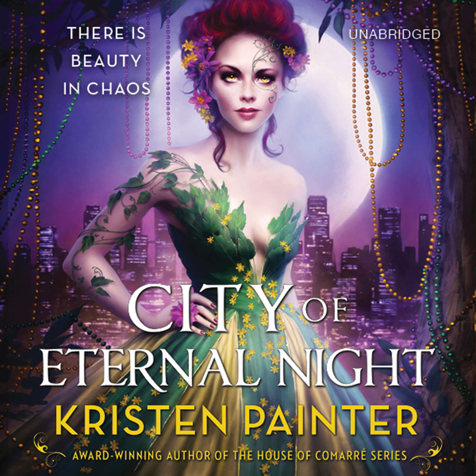Printable City of Eternal Night: Crescent City: Book 2 Audiobook Cover Art