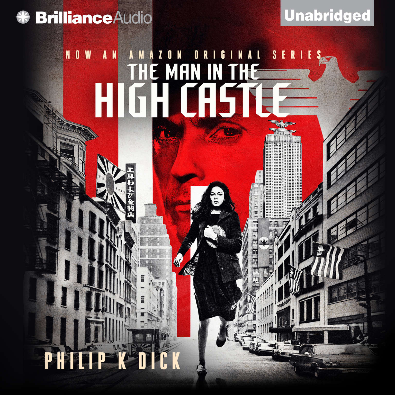 Printable The Man in the High Castle Audiobook Cover Art