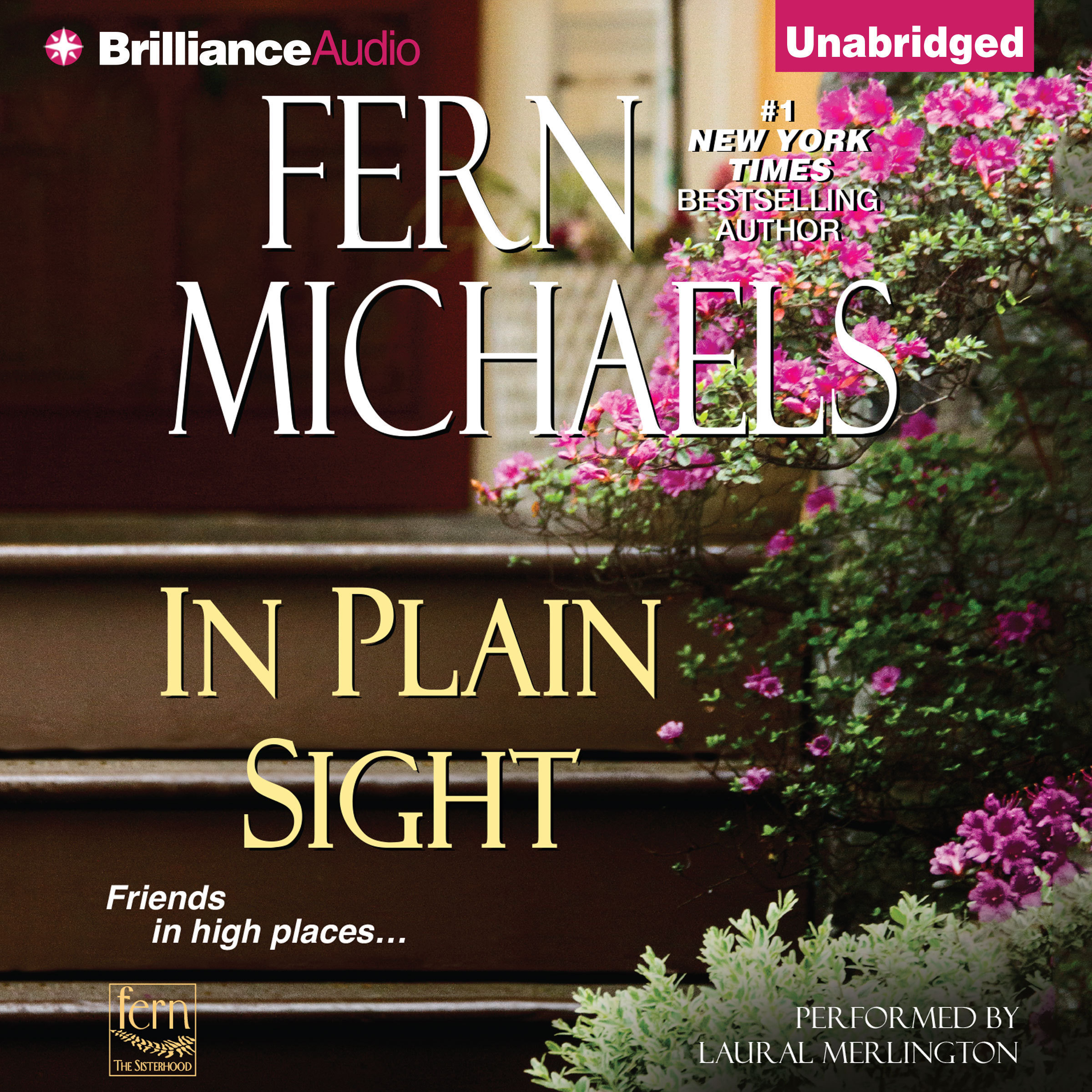 Printable In Plain Sight Audiobook Cover Art