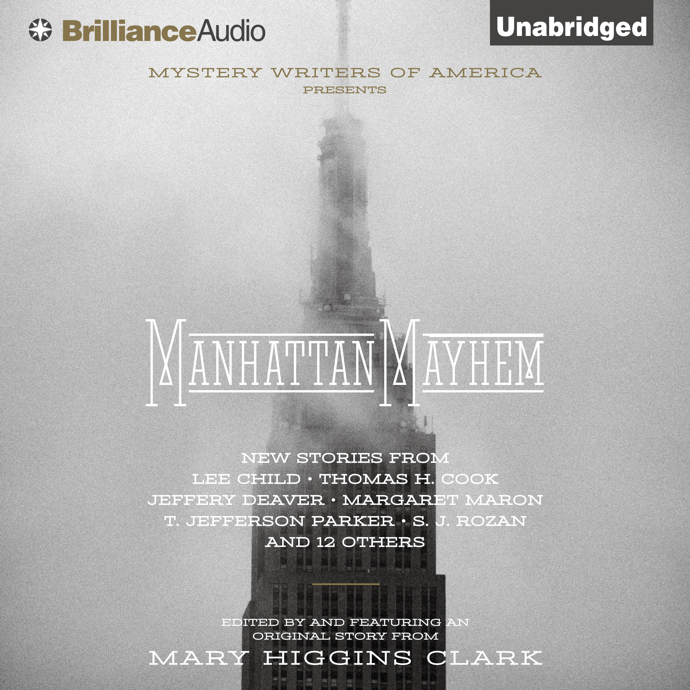 Printable Manhattan Mayhem: An Anthology of Tales in Celebration of the 70th year of the Mystery Writers of America Audiobook Cover Art