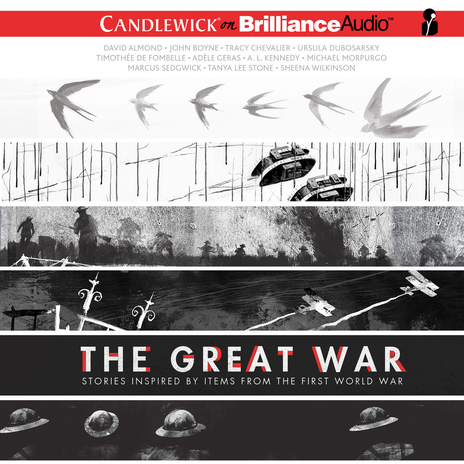 Printable The Great War: Stories Inspired by Items from the First World War Audiobook Cover Art