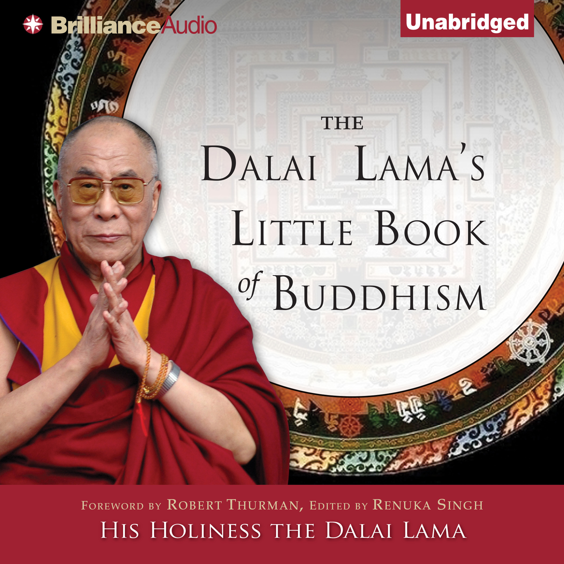 Printable The Dalai Lama's Little Book of Buddhism Audiobook Cover Art