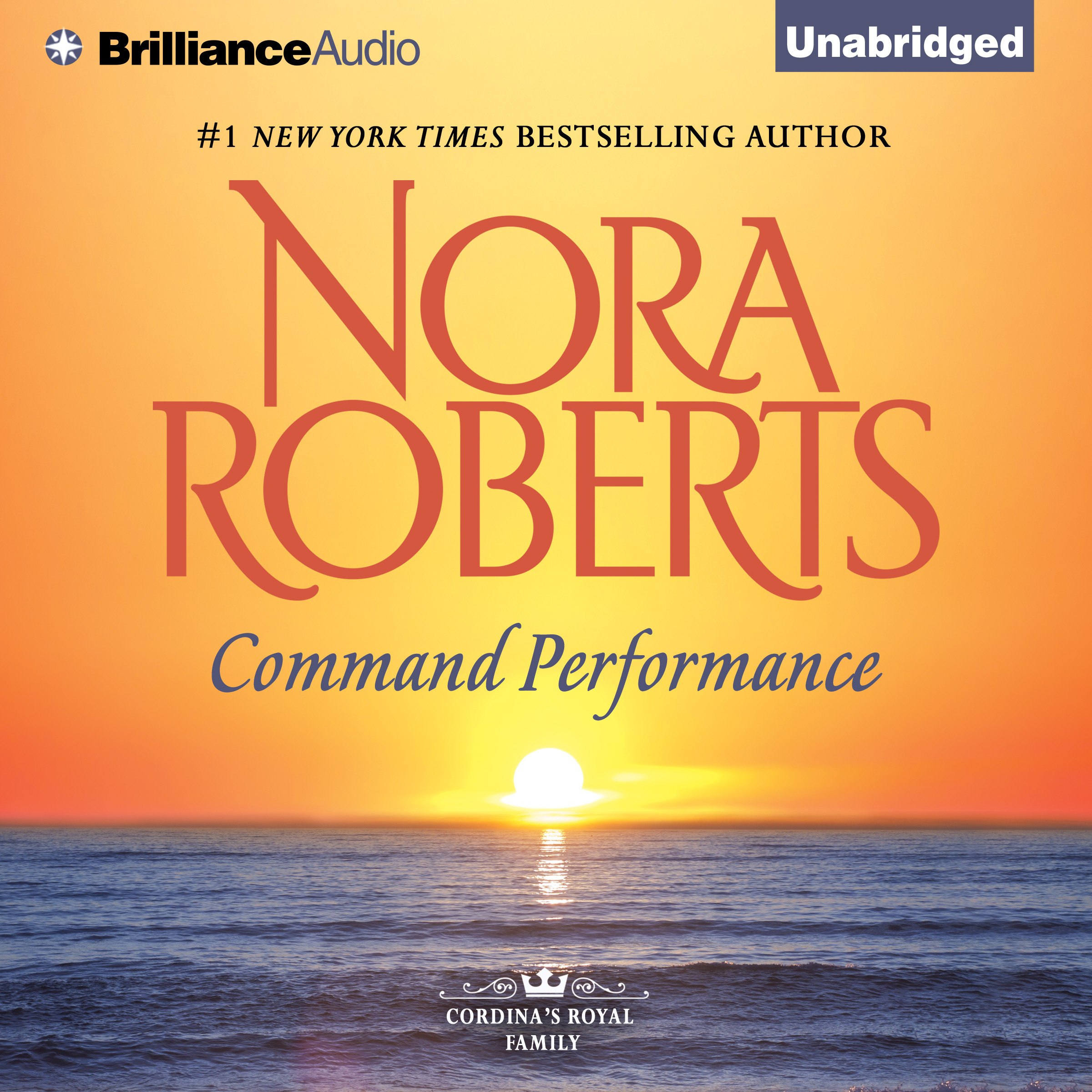 Printable Command Performance Audiobook Cover Art