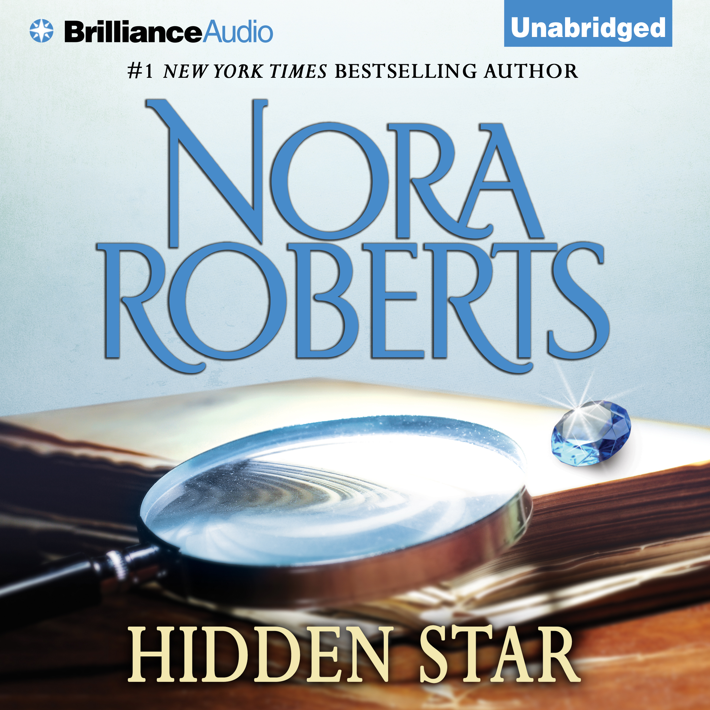 Printable Hidden Star Audiobook Cover Art