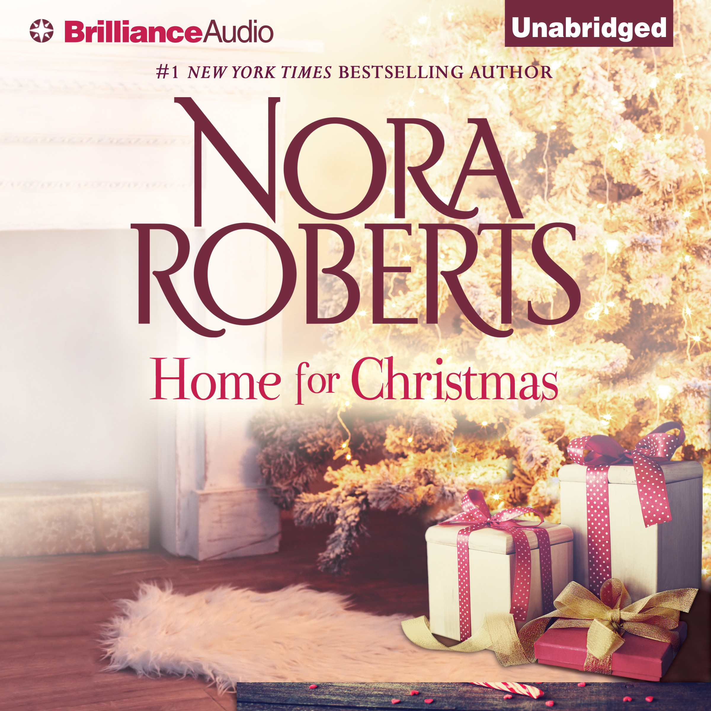 Printable Home for Christmas Audiobook Cover Art