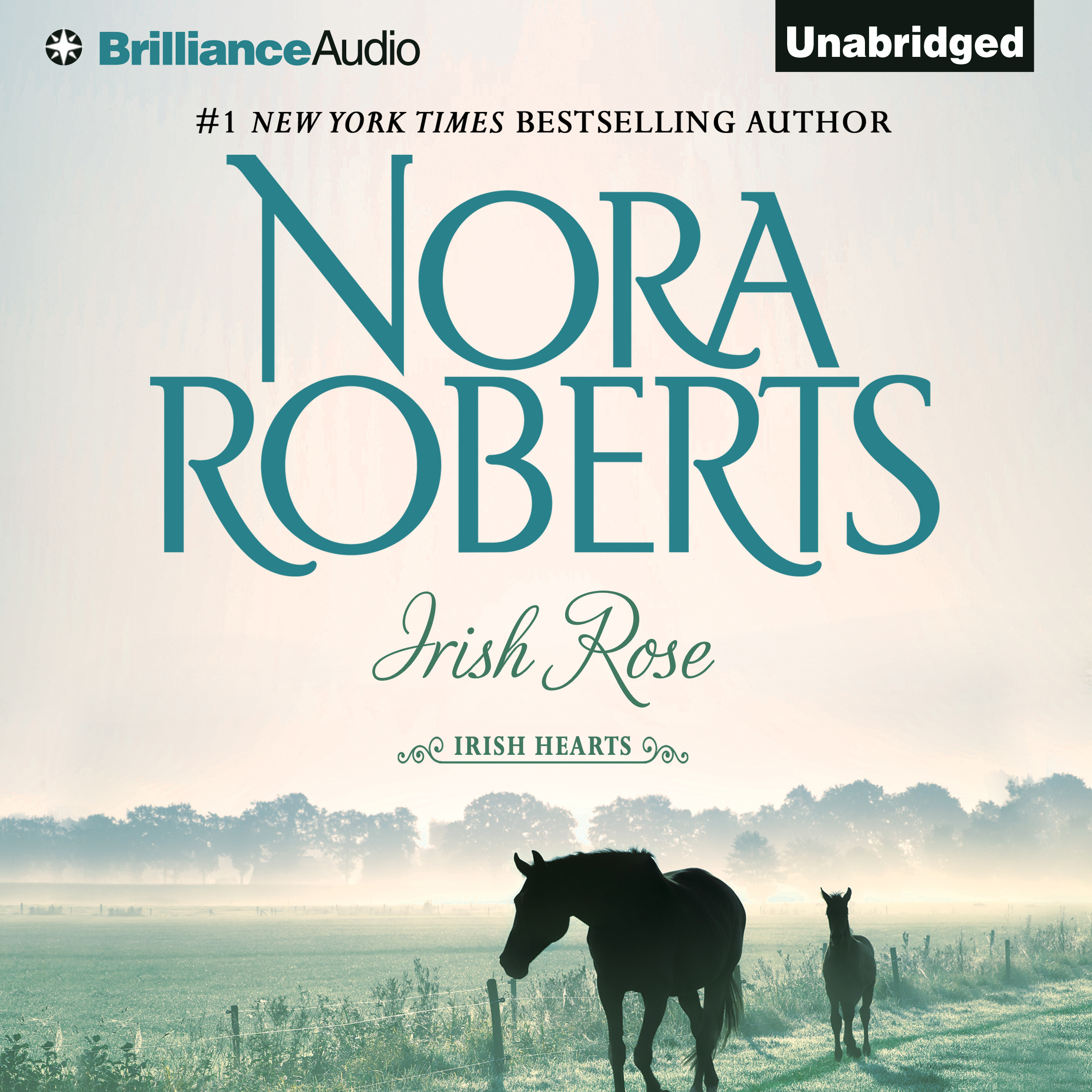 Printable Irish Rose Audiobook Cover Art