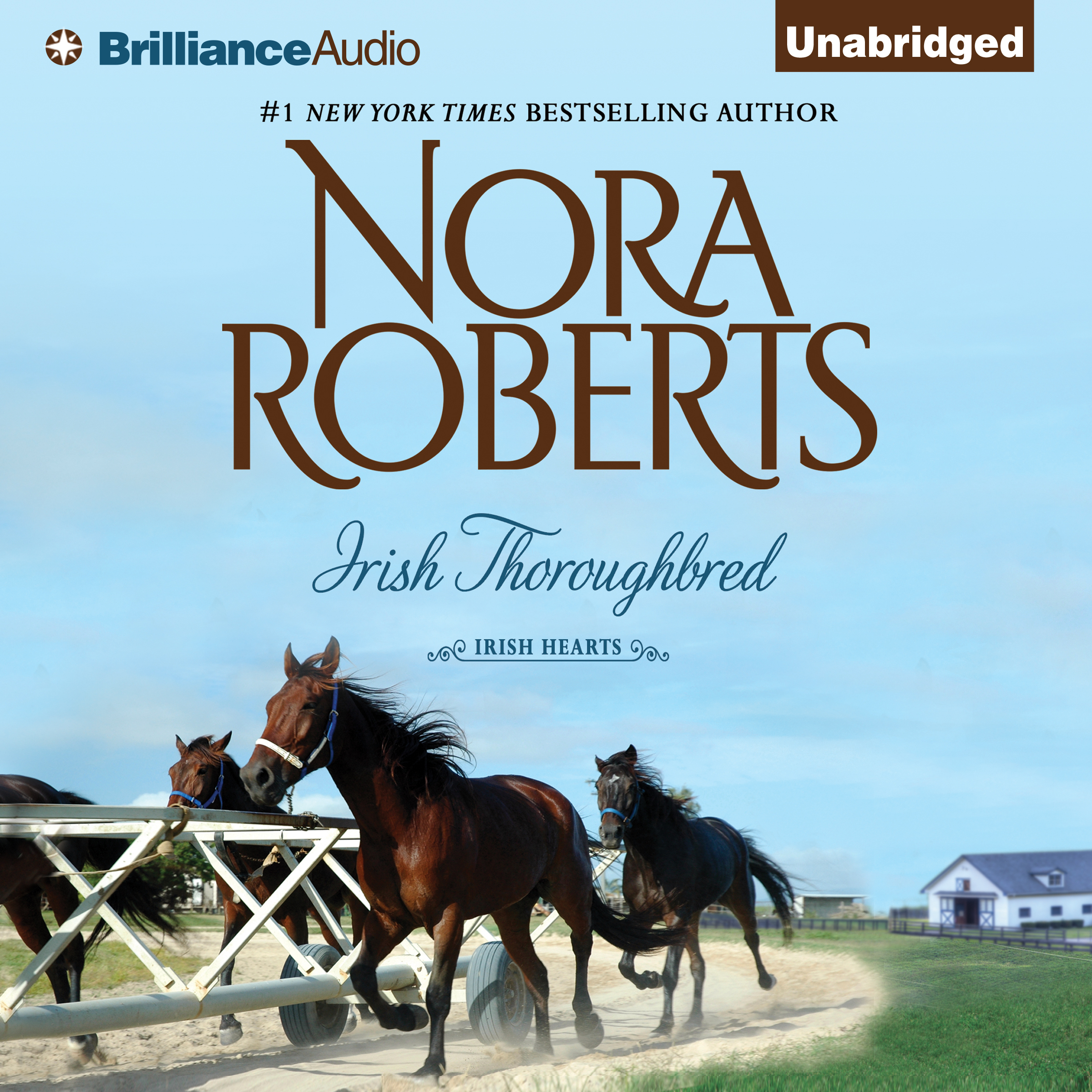 Printable Irish Thoroughbred Audiobook Cover Art