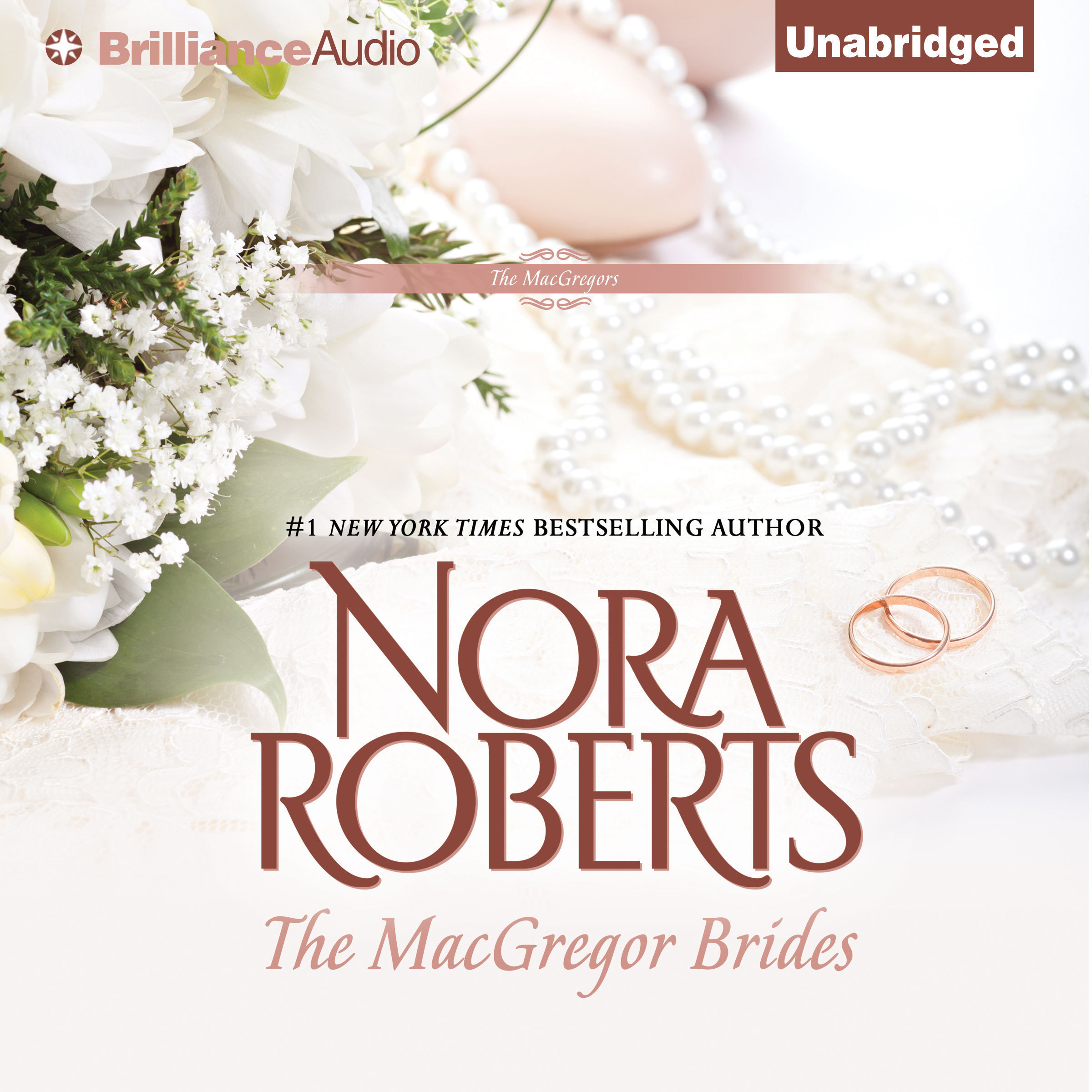 Printable The MacGregor Brides Audiobook Cover Art