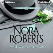 The MacGregor Grooms Audiobook, by Nora Roberts