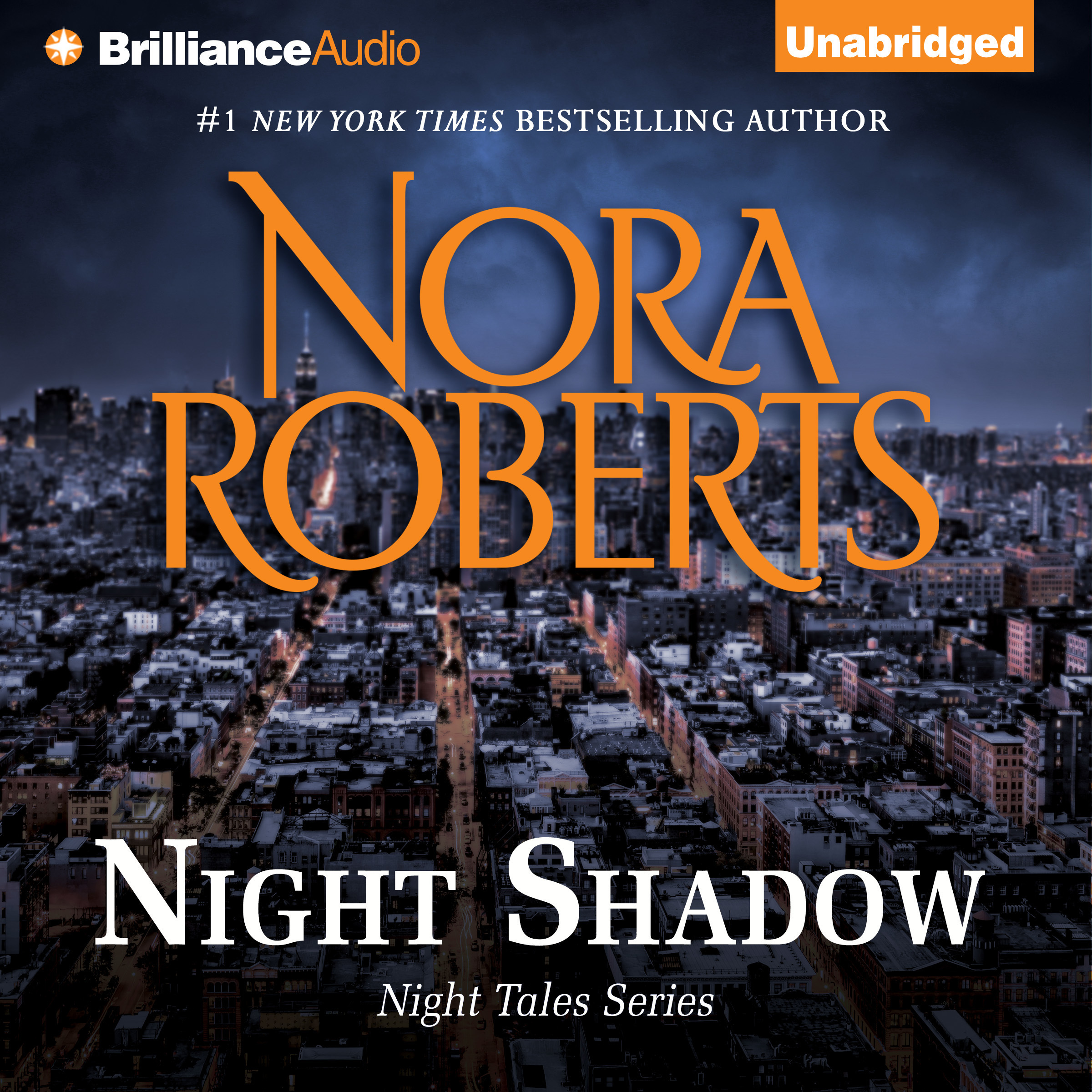 Printable Night Shadow Audiobook Cover Art