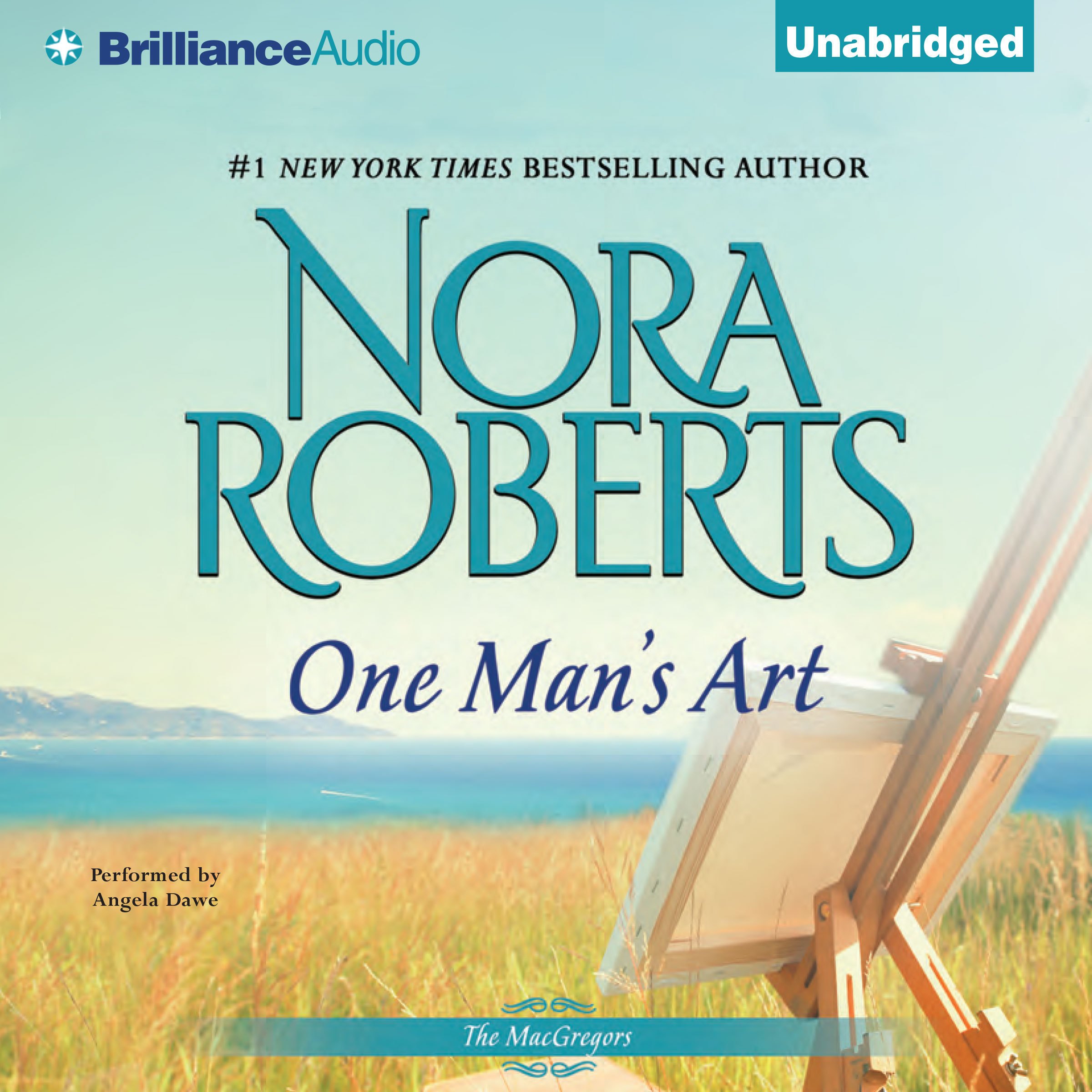 Printable One Man's Art Audiobook Cover Art