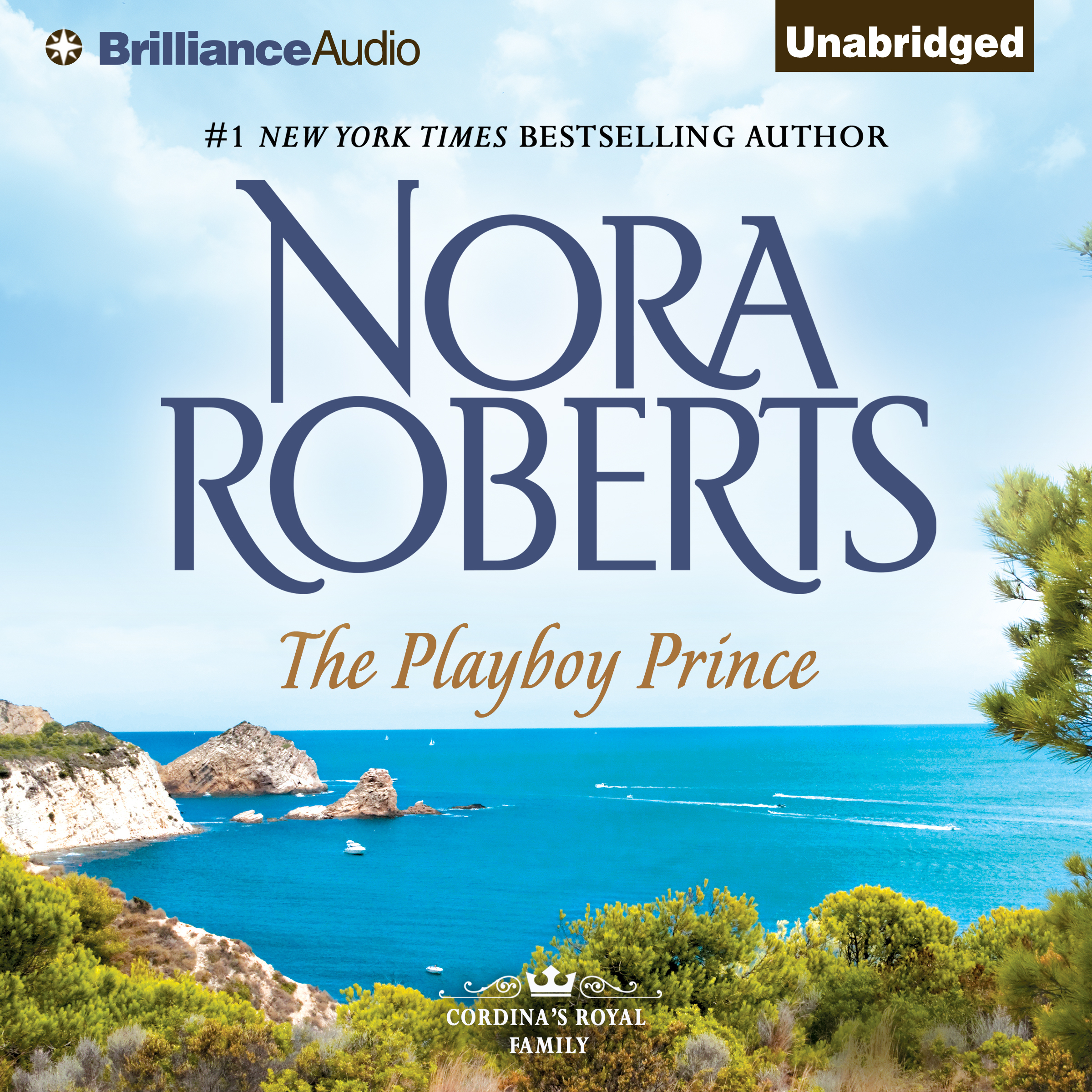 Printable The Playboy Prince Audiobook Cover Art