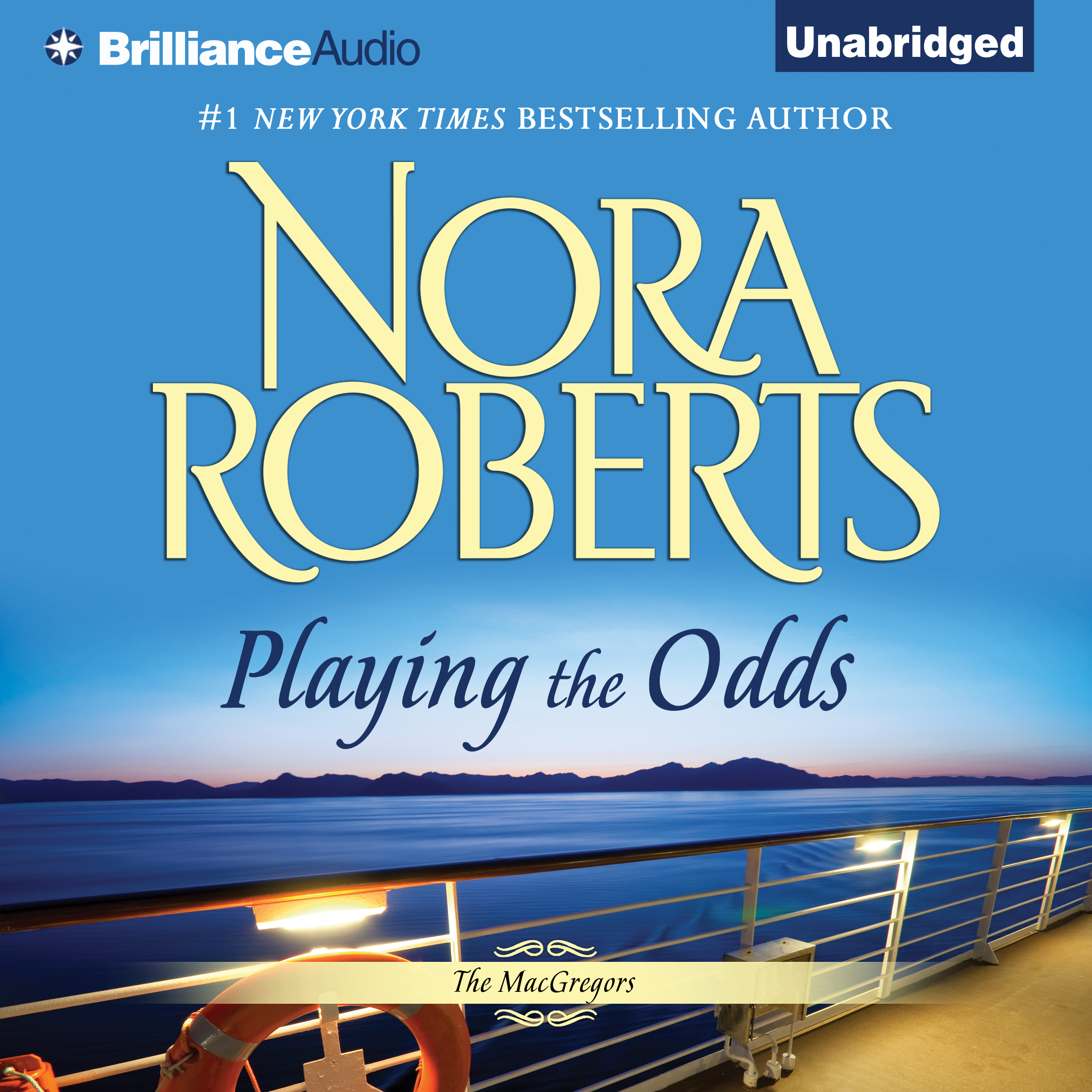 Printable Playing the Odds Audiobook Cover Art