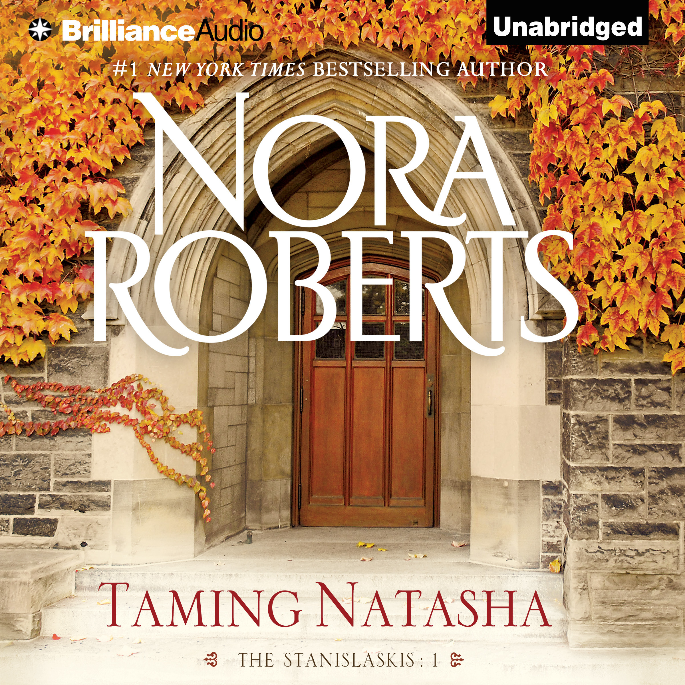 Printable Taming Natasha Audiobook Cover Art