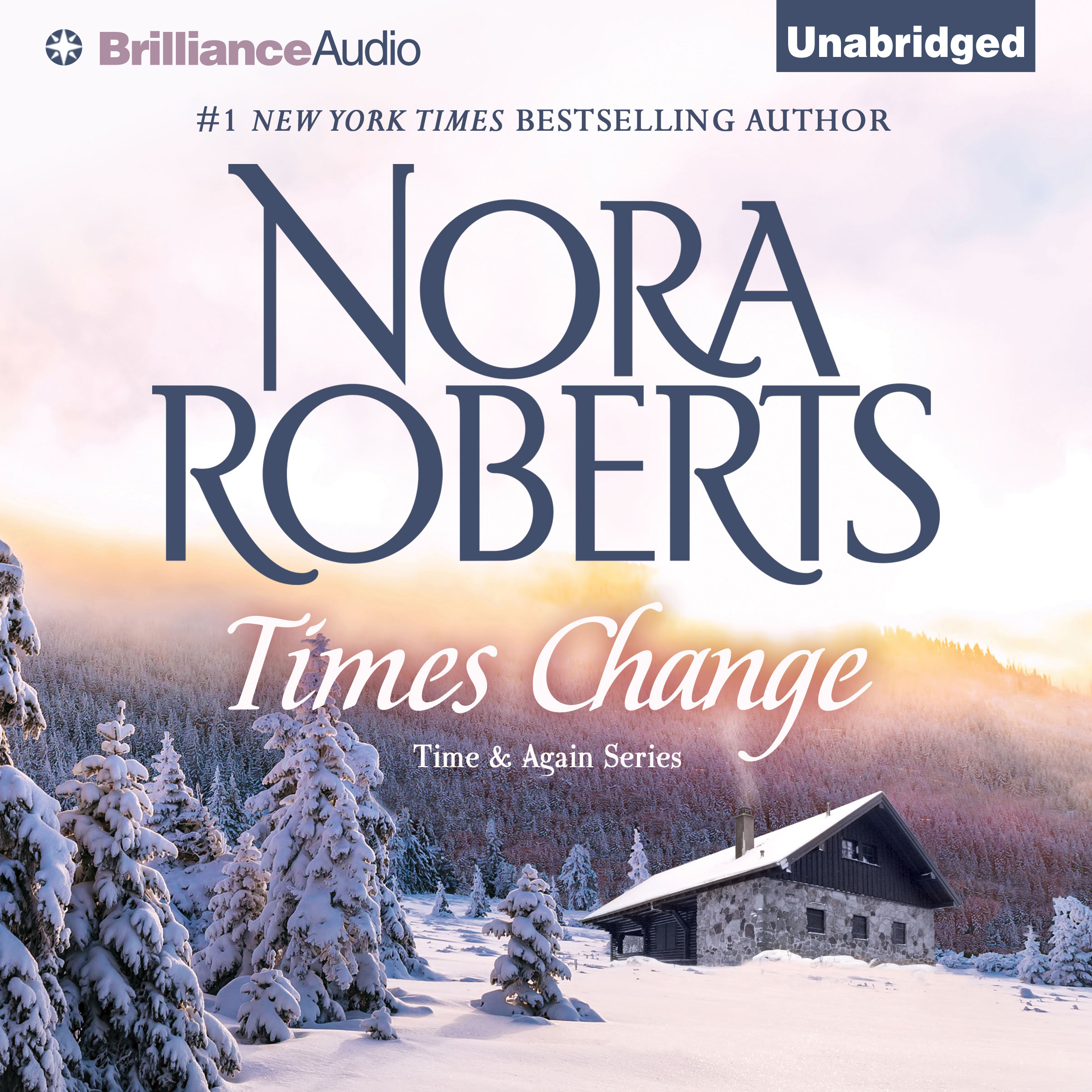 Printable Times Change Audiobook Cover Art