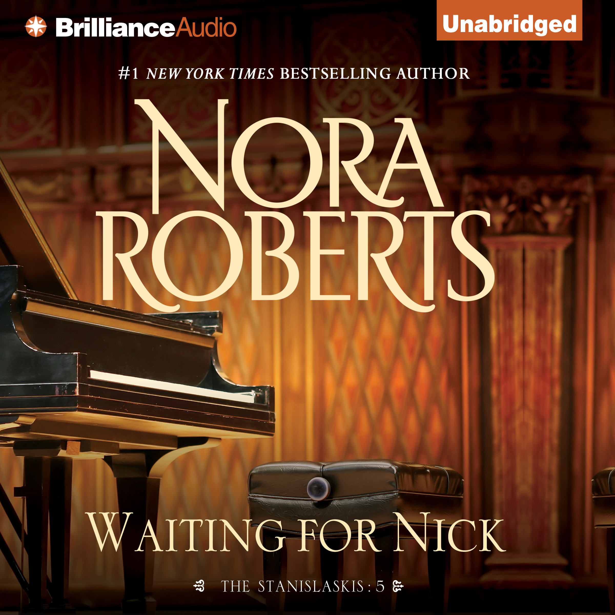 Printable Waiting for Nick Audiobook Cover Art