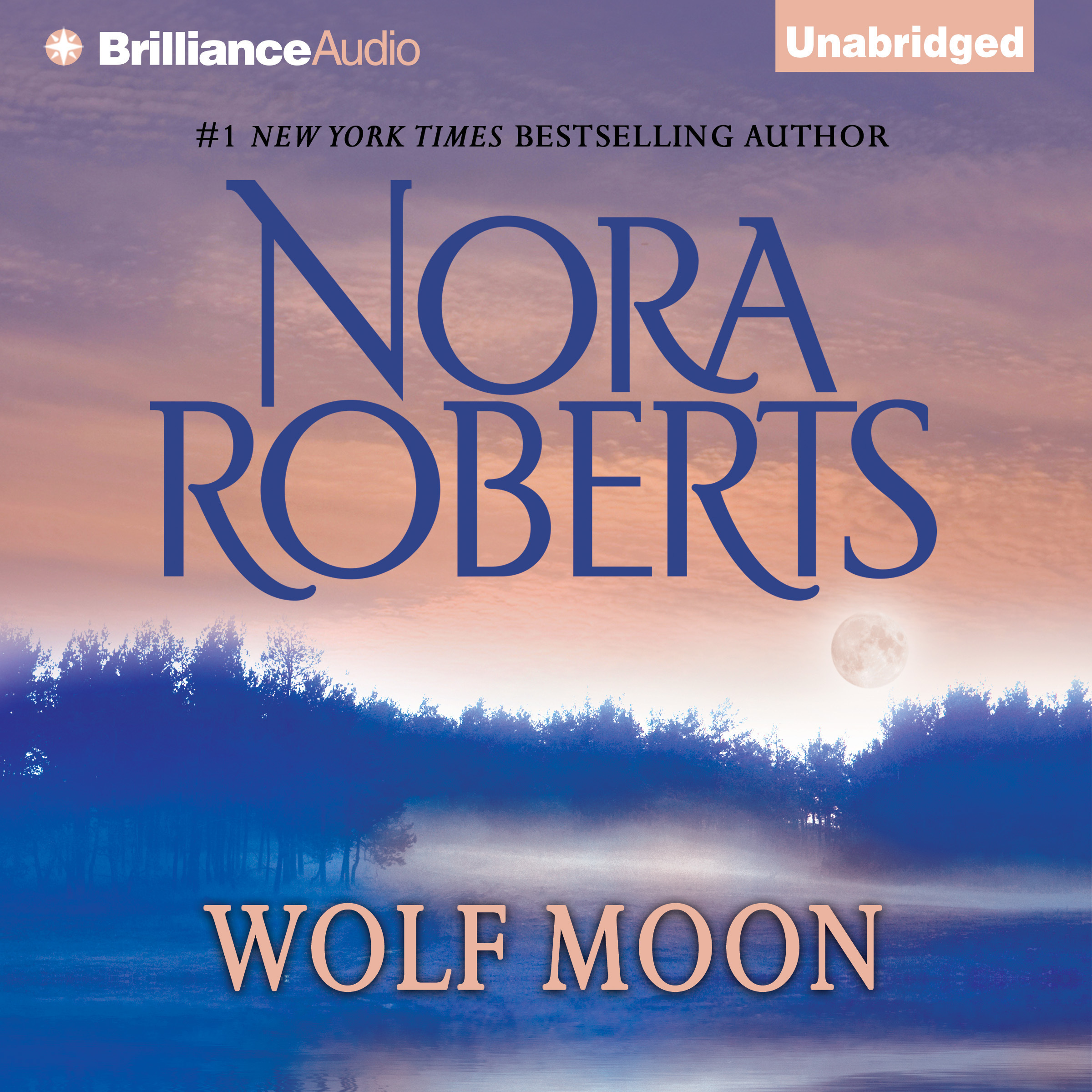 Printable Wolf Moon Audiobook Cover Art
