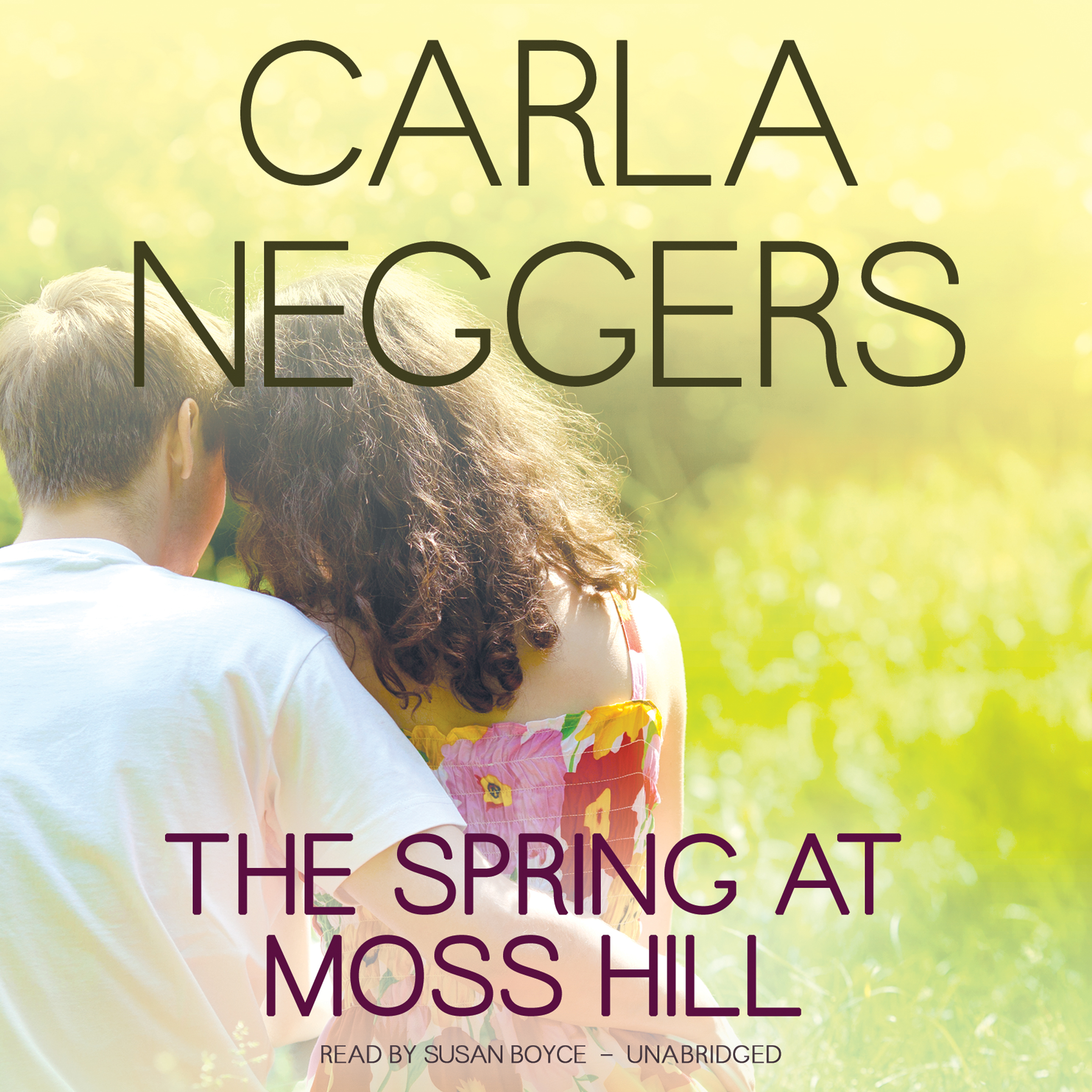 Printable The Spring at Moss Hill Audiobook Cover Art