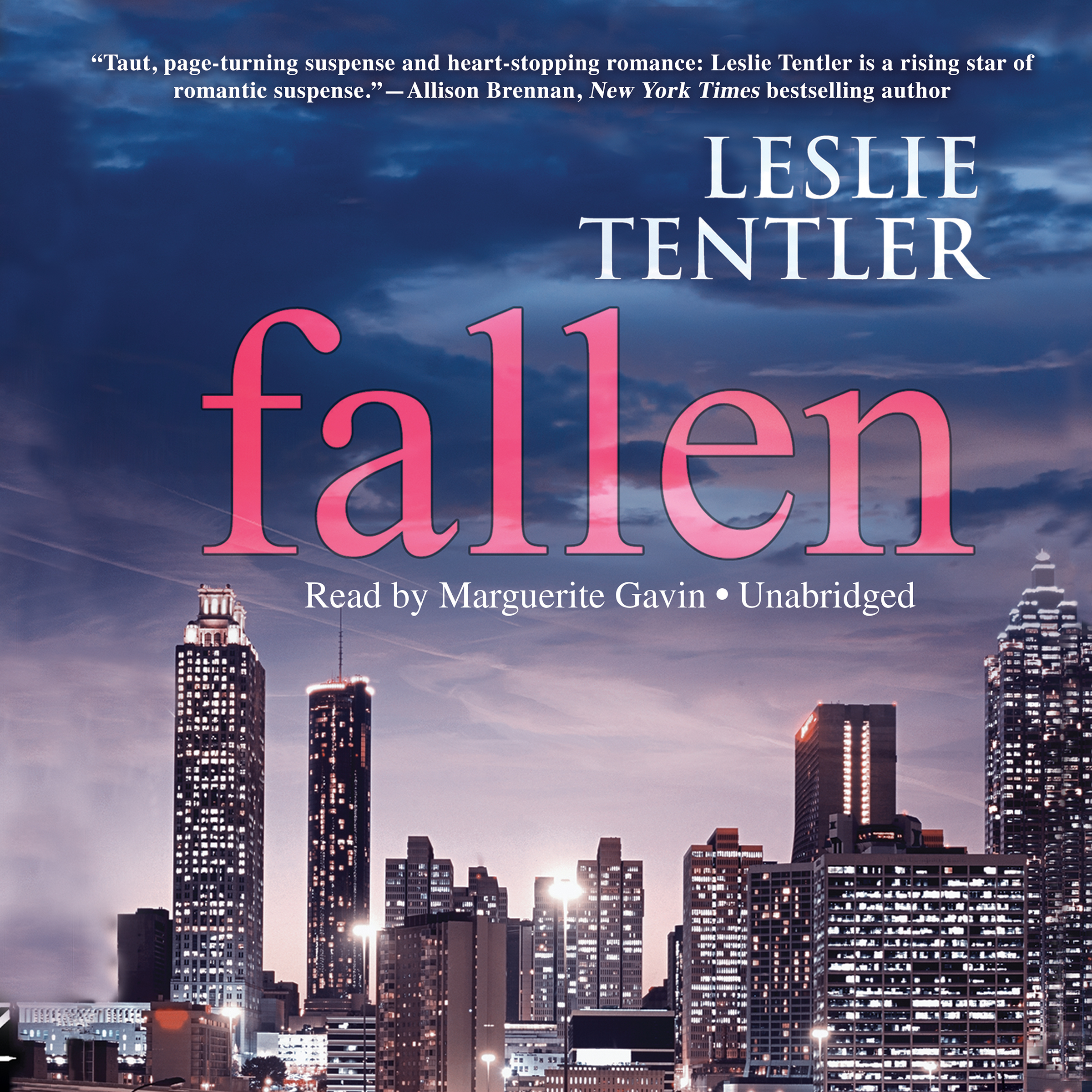Printable Fallen Audiobook Cover Art