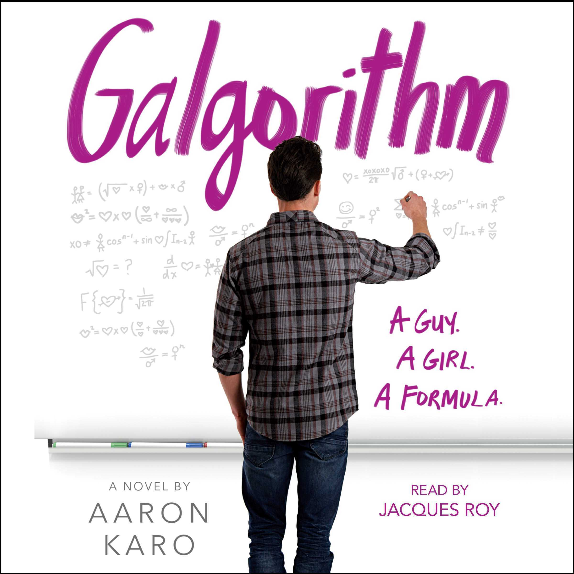 Printable Galgorithm Audiobook Cover Art