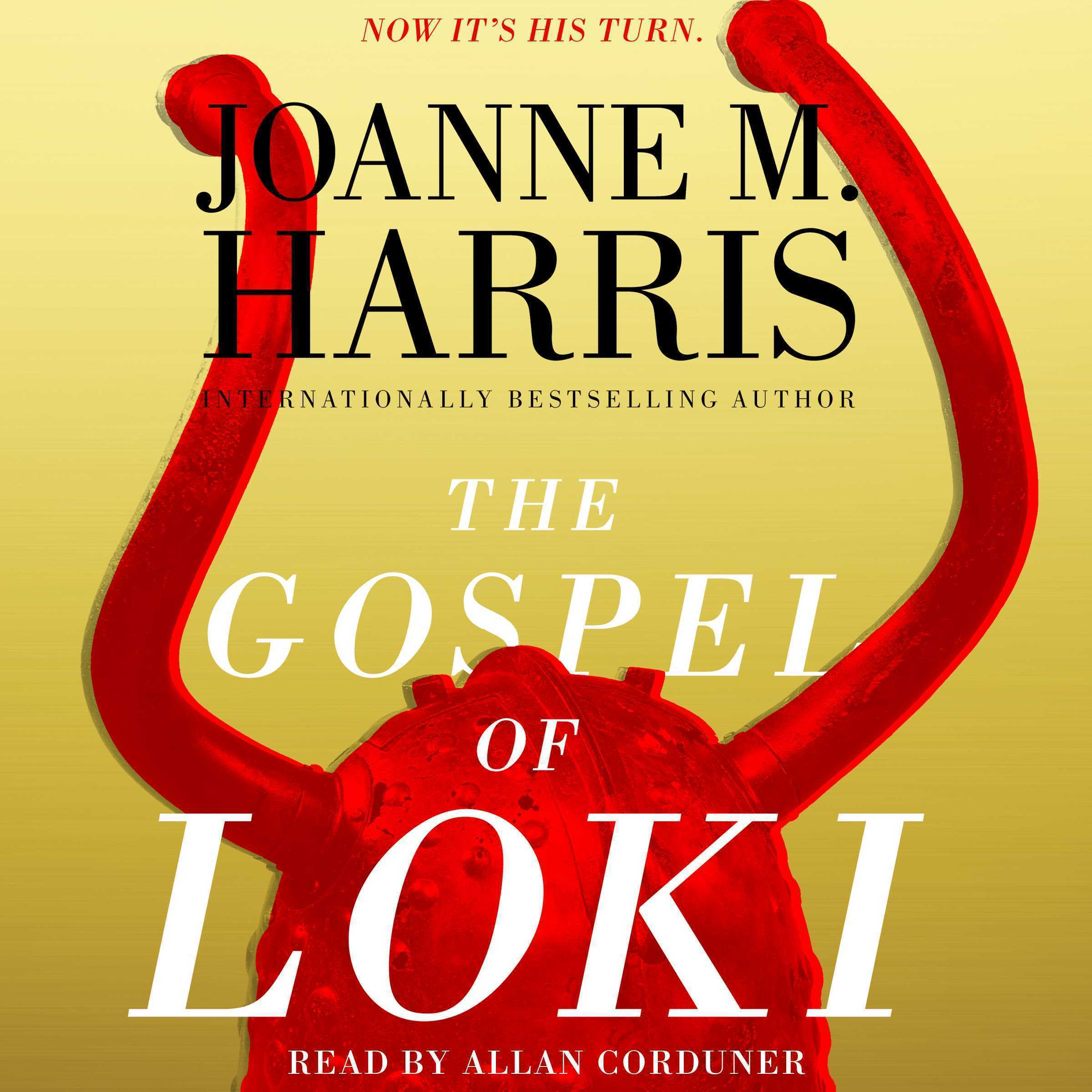 Printable The Gospel of Loki Audiobook Cover Art