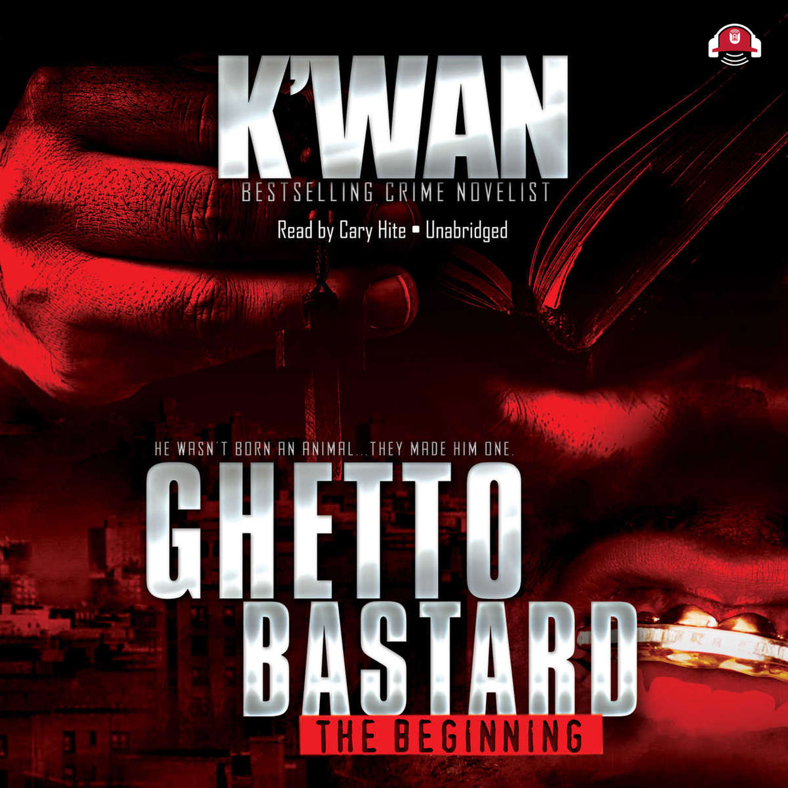 Printable Ghetto Bastard Audiobook Cover Art