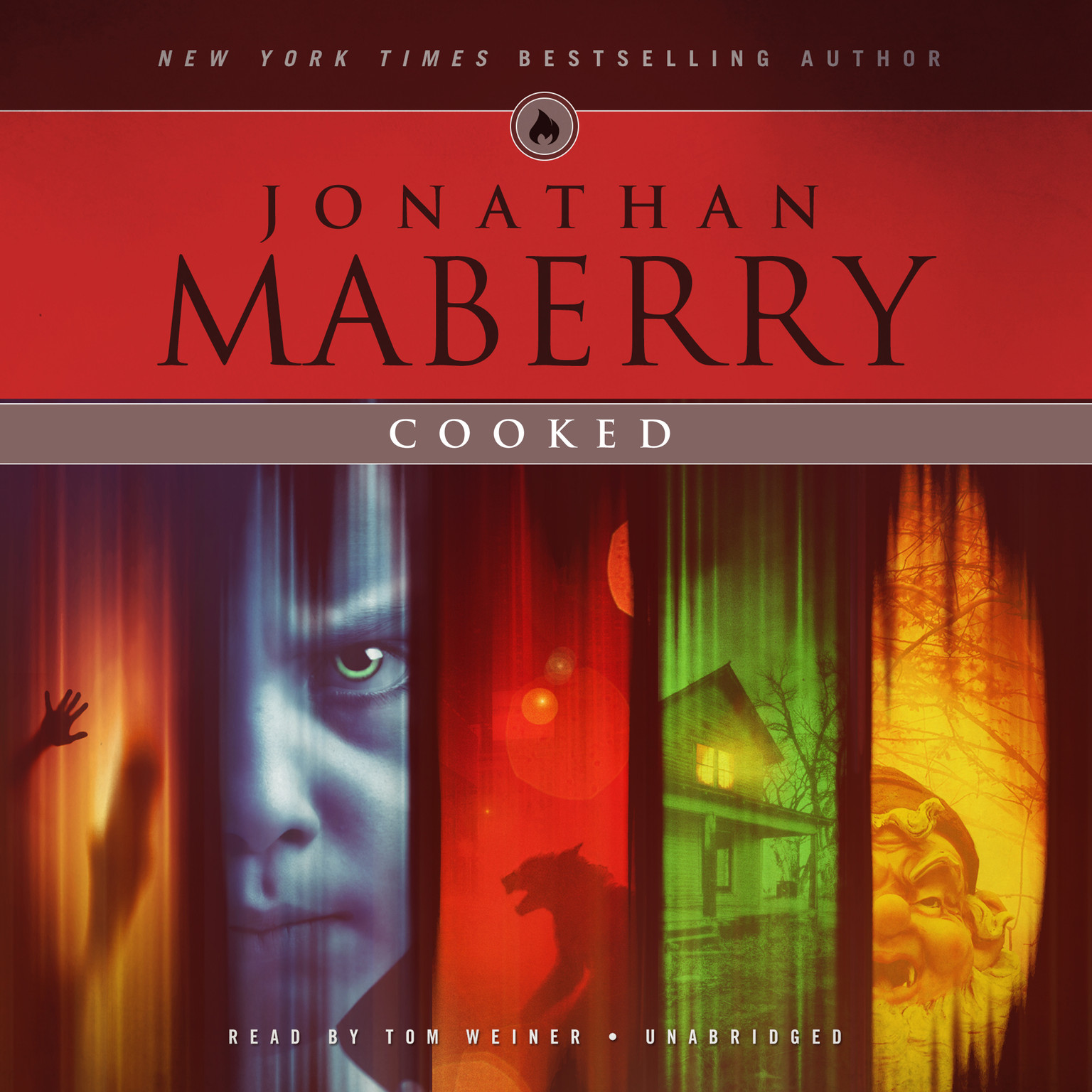 Cooked Audiobook, by Jonathan Maberry