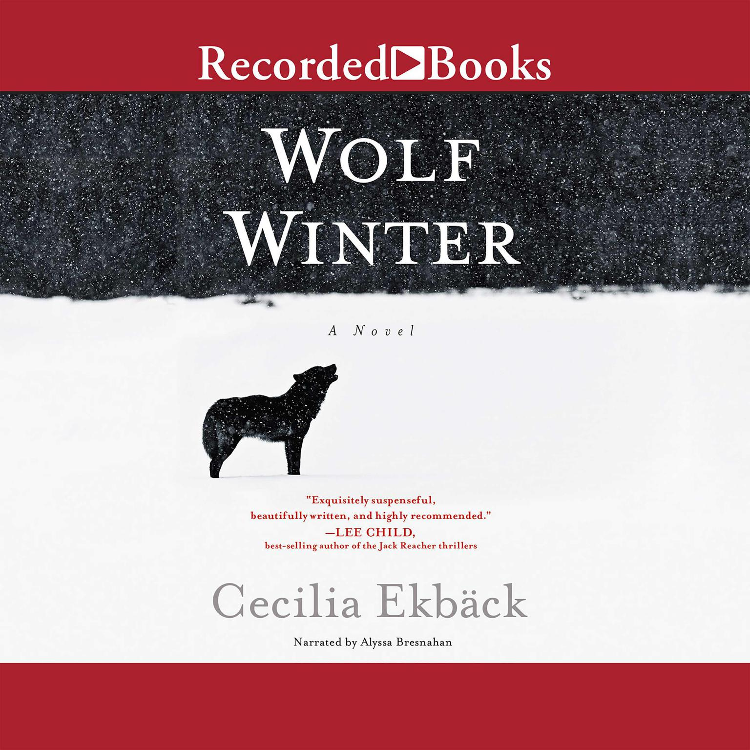 Printable Wolf Winter Audiobook Cover Art