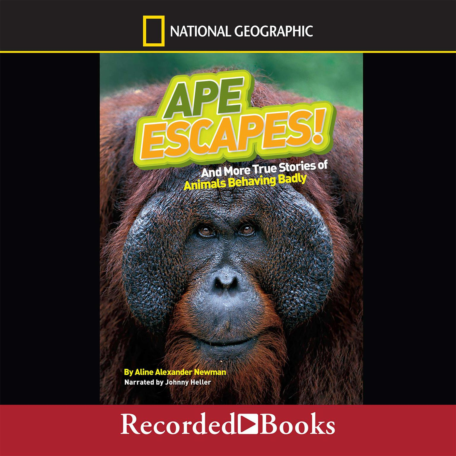 Printable Ape Escapes!: And More True Stories of Animals Behaving Badly Audiobook Cover Art