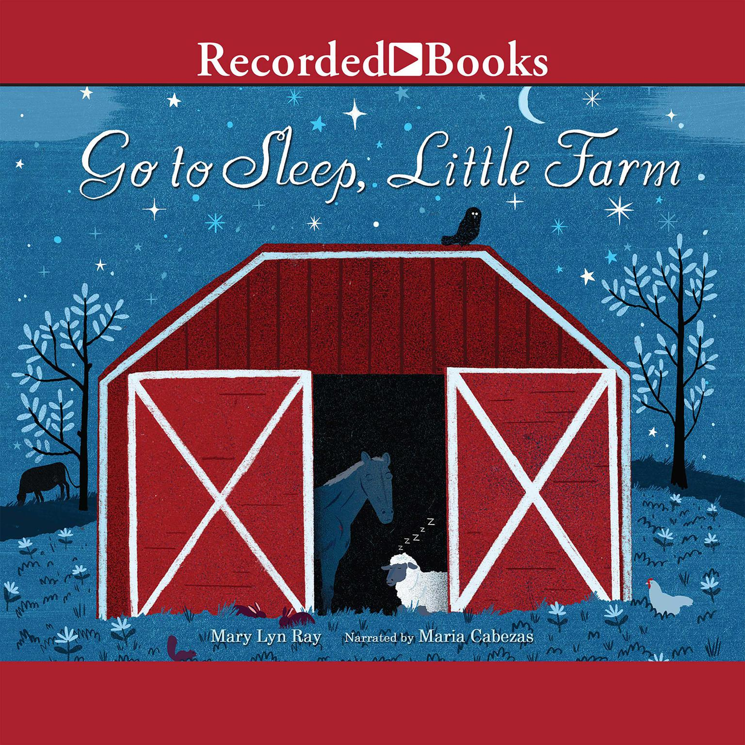 Printable Go to Sleep, Little Farm Audiobook Cover Art