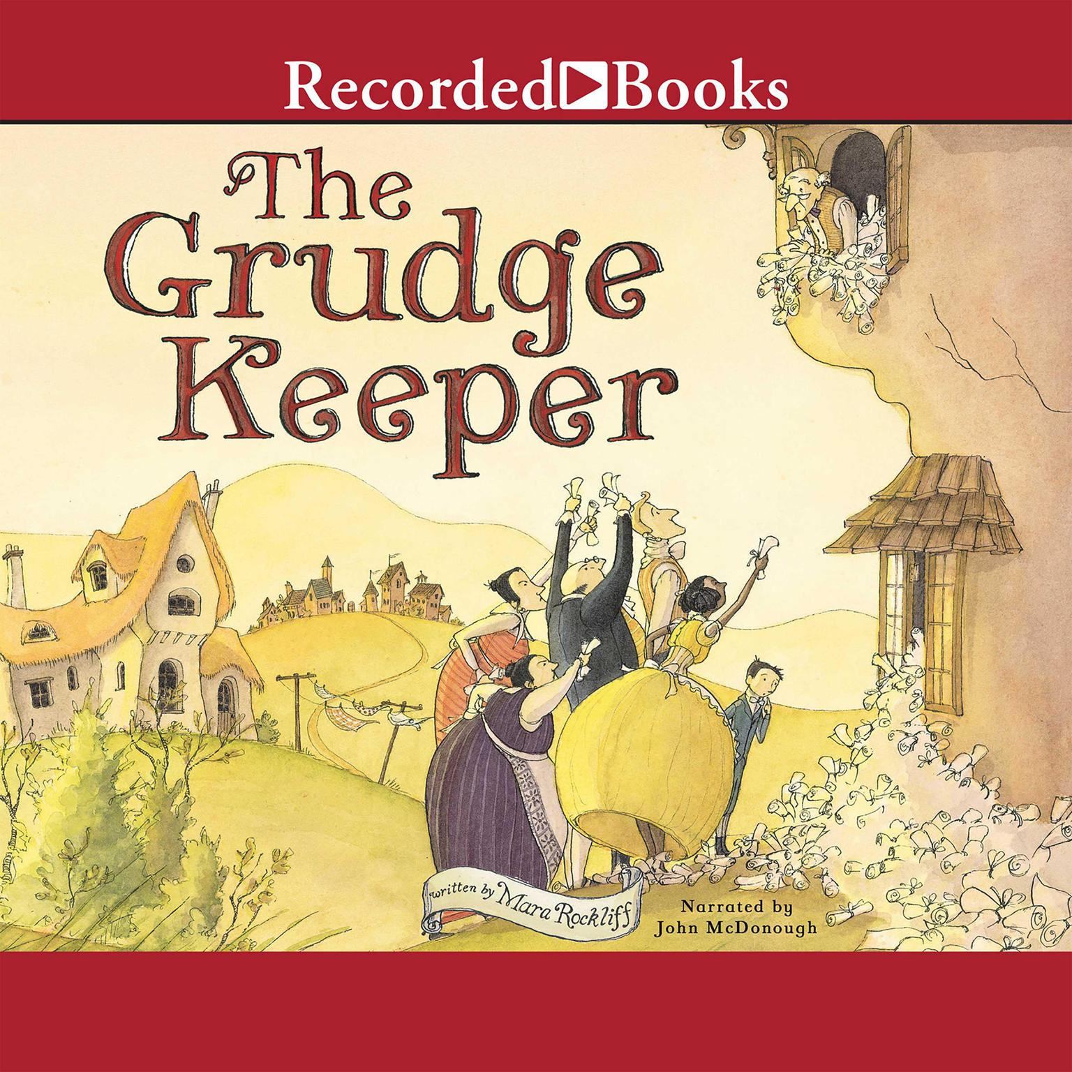 Printable The Grudge Keeper Audiobook Cover Art
