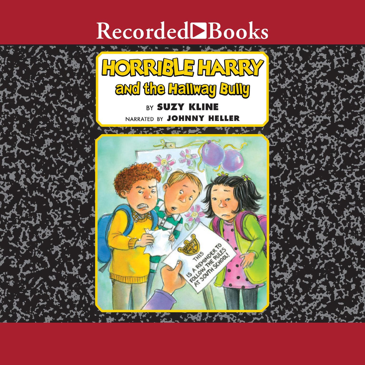 Printable Horrible Harry and the Hallway Bully Audiobook Cover Art