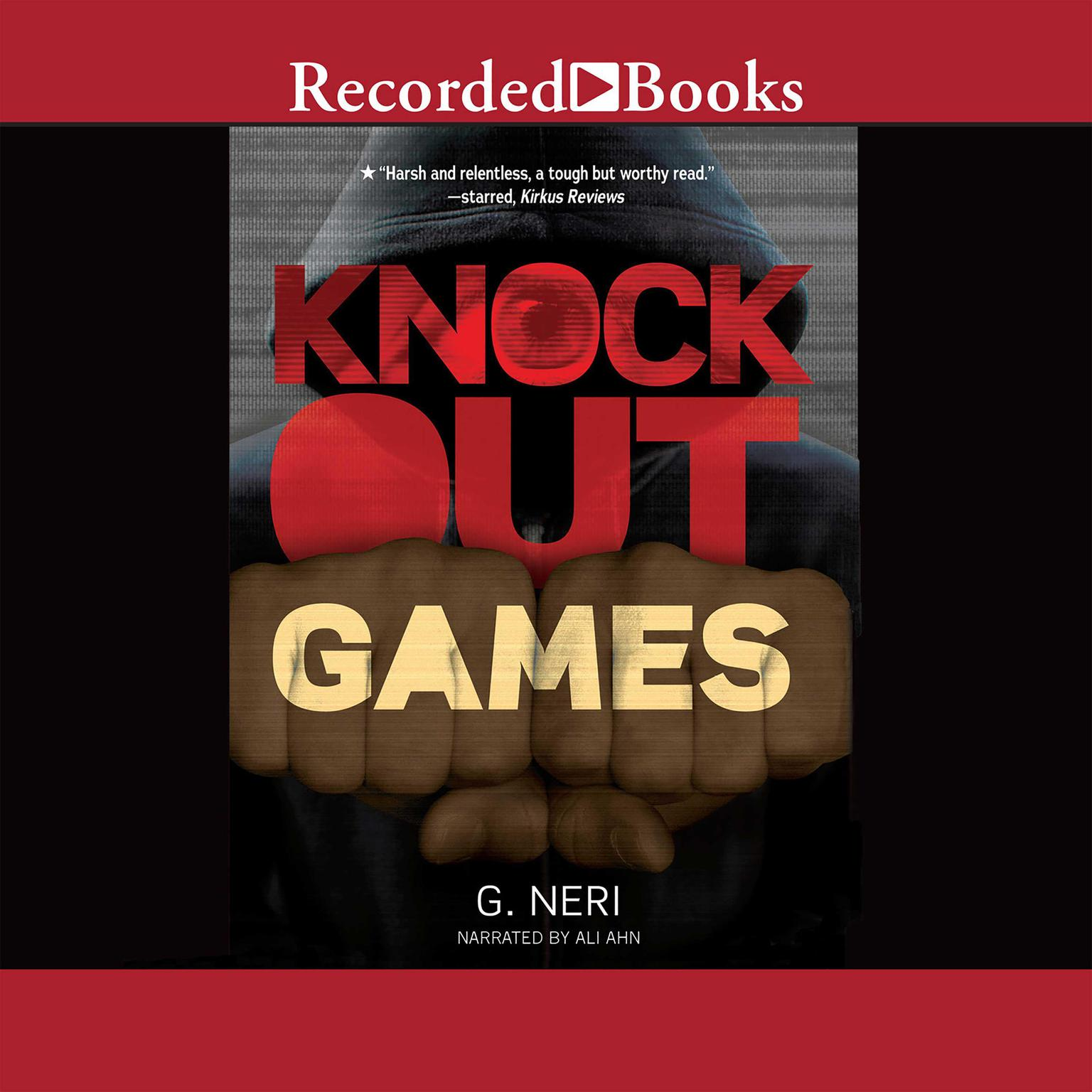 Printable Knockout Games Audiobook Cover Art