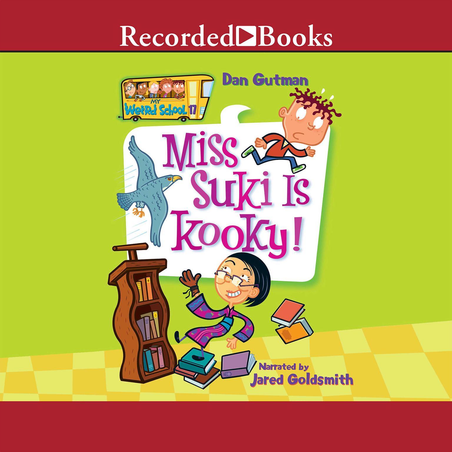 Printable Miss Suki Is Kooky! Audiobook Cover Art