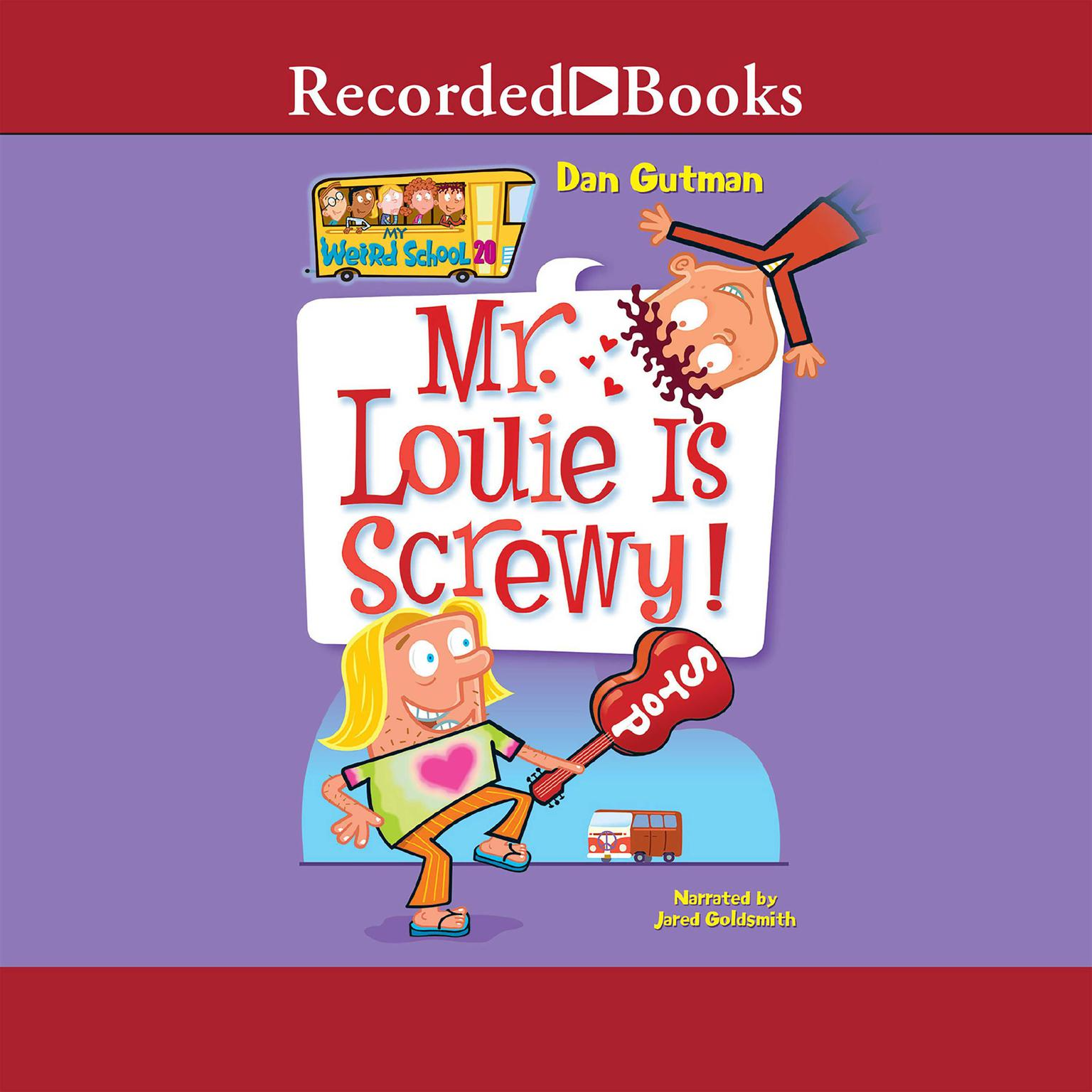 Printable Mr. Louie Is Screwy! Audiobook Cover Art