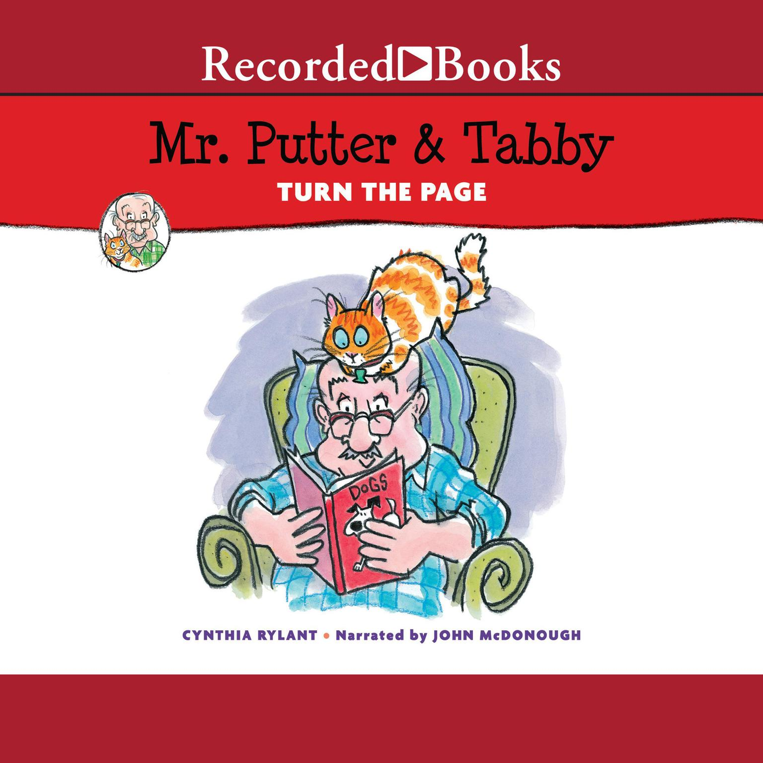 Printable Mr. Putter & Tabby Turn the Page Audiobook Cover Art