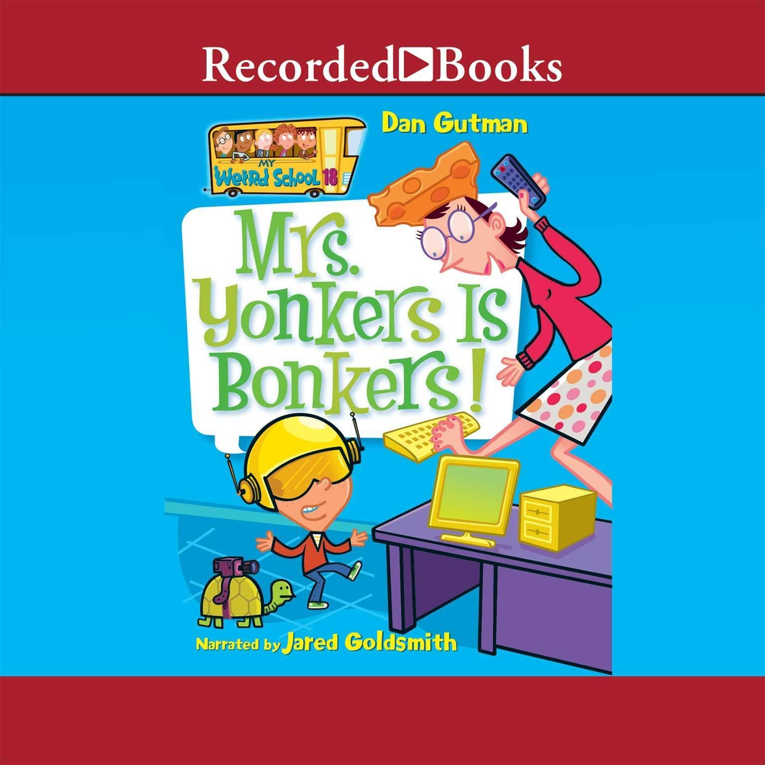 Printable Mrs. Yonkers Is Bonkers! Audiobook Cover Art