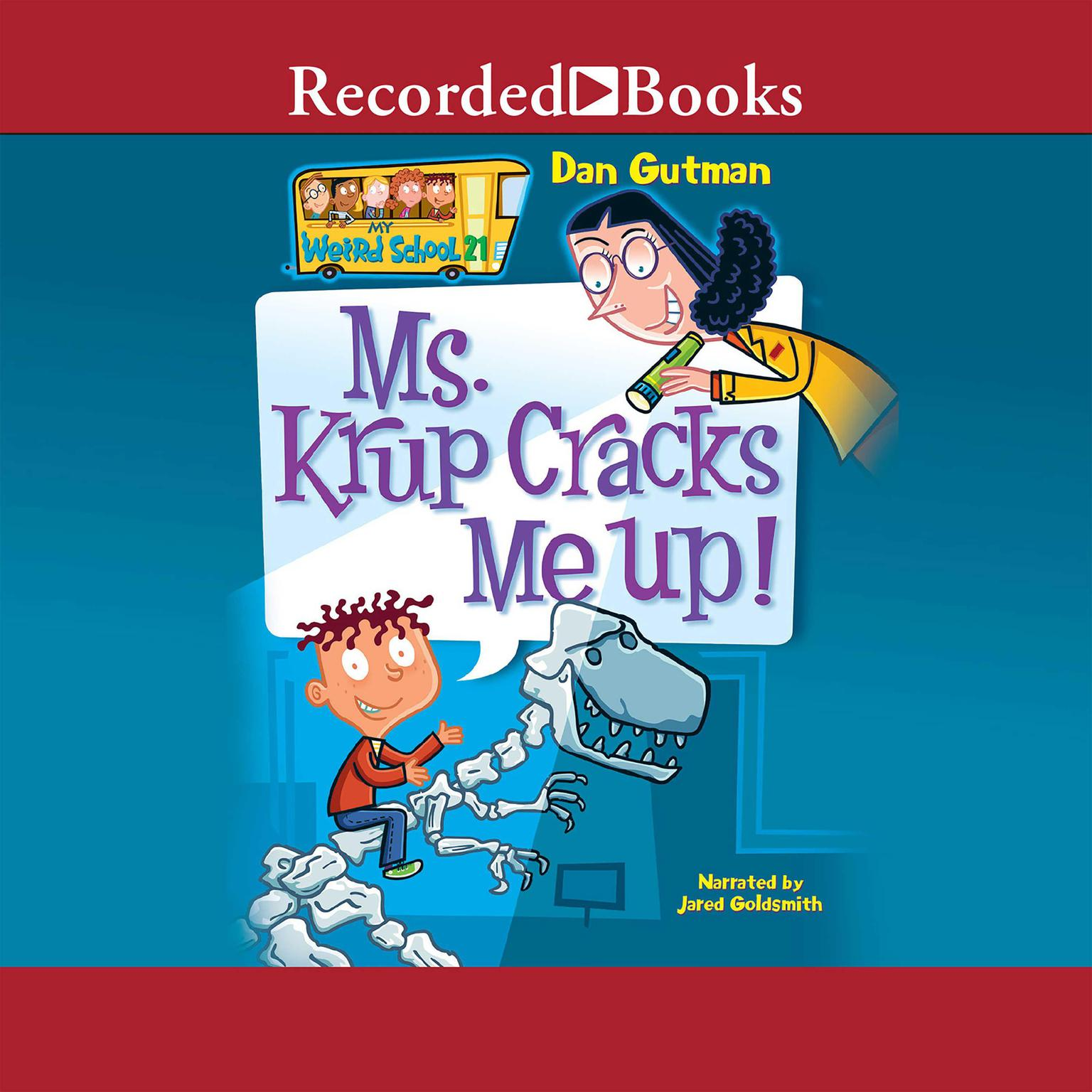 Printable Ms. Krup Cracks Me Up! Audiobook Cover Art