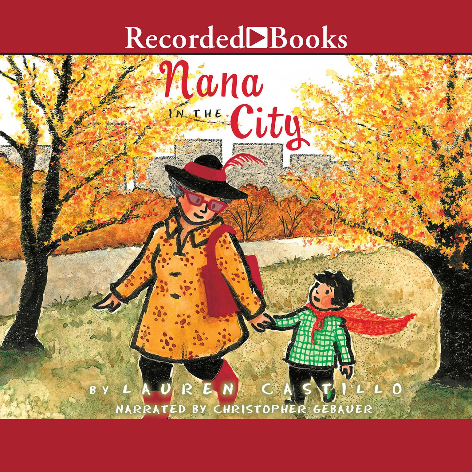 Printable Nana in the City Audiobook Cover Art