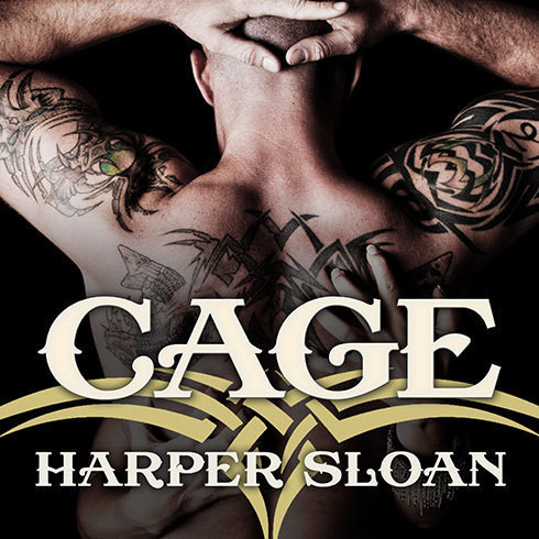 Printable Cage Audiobook Cover Art