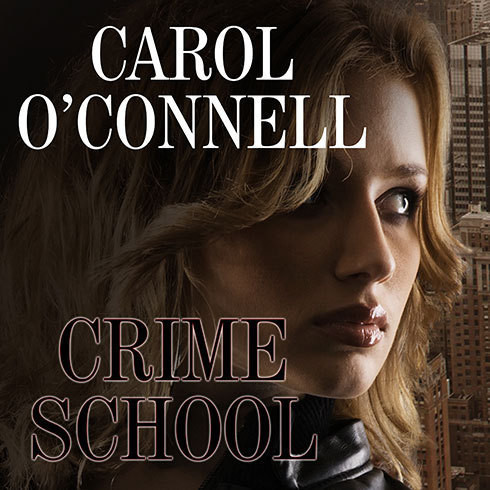 Printable Crime School Audiobook Cover Art