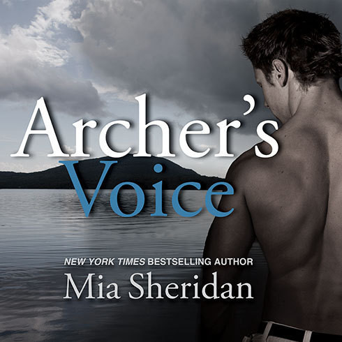 Printable Archer's Voice Audiobook Cover Art