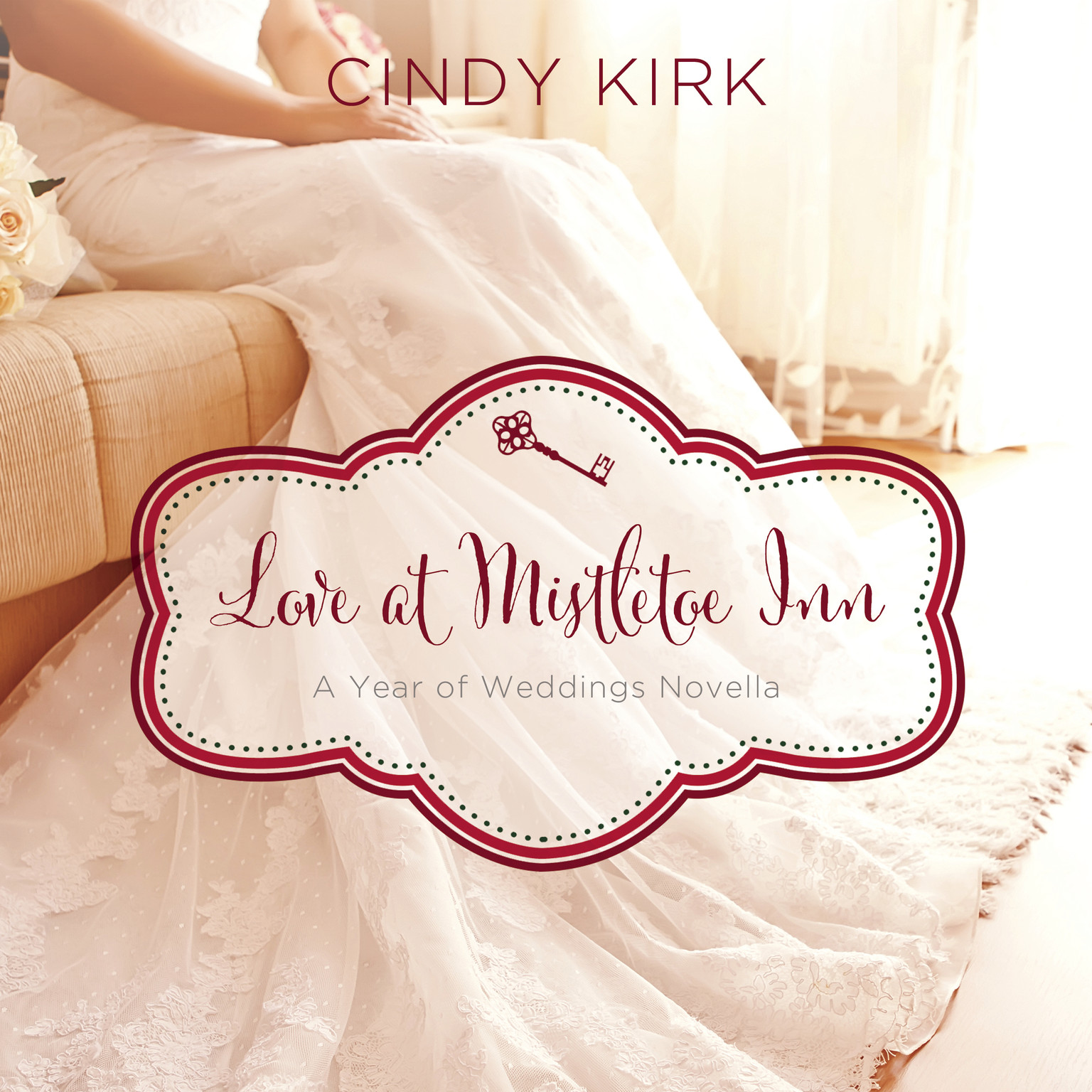 Printable Love at Mistletoe Inn: A Year of Weddings Novella Audiobook Cover Art