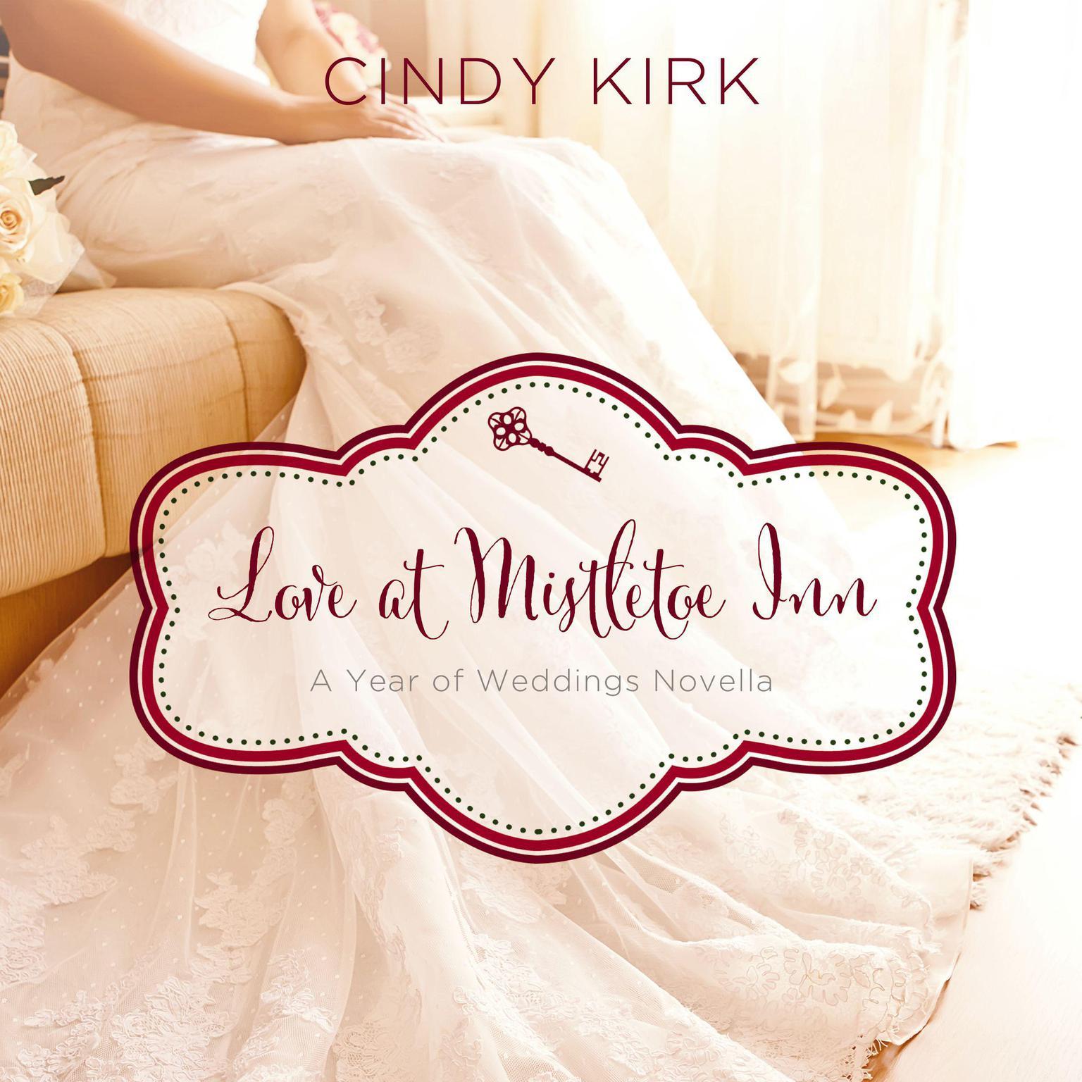 Printable Love at Mistletoe Inn: A December Wedding Story Audiobook Cover Art